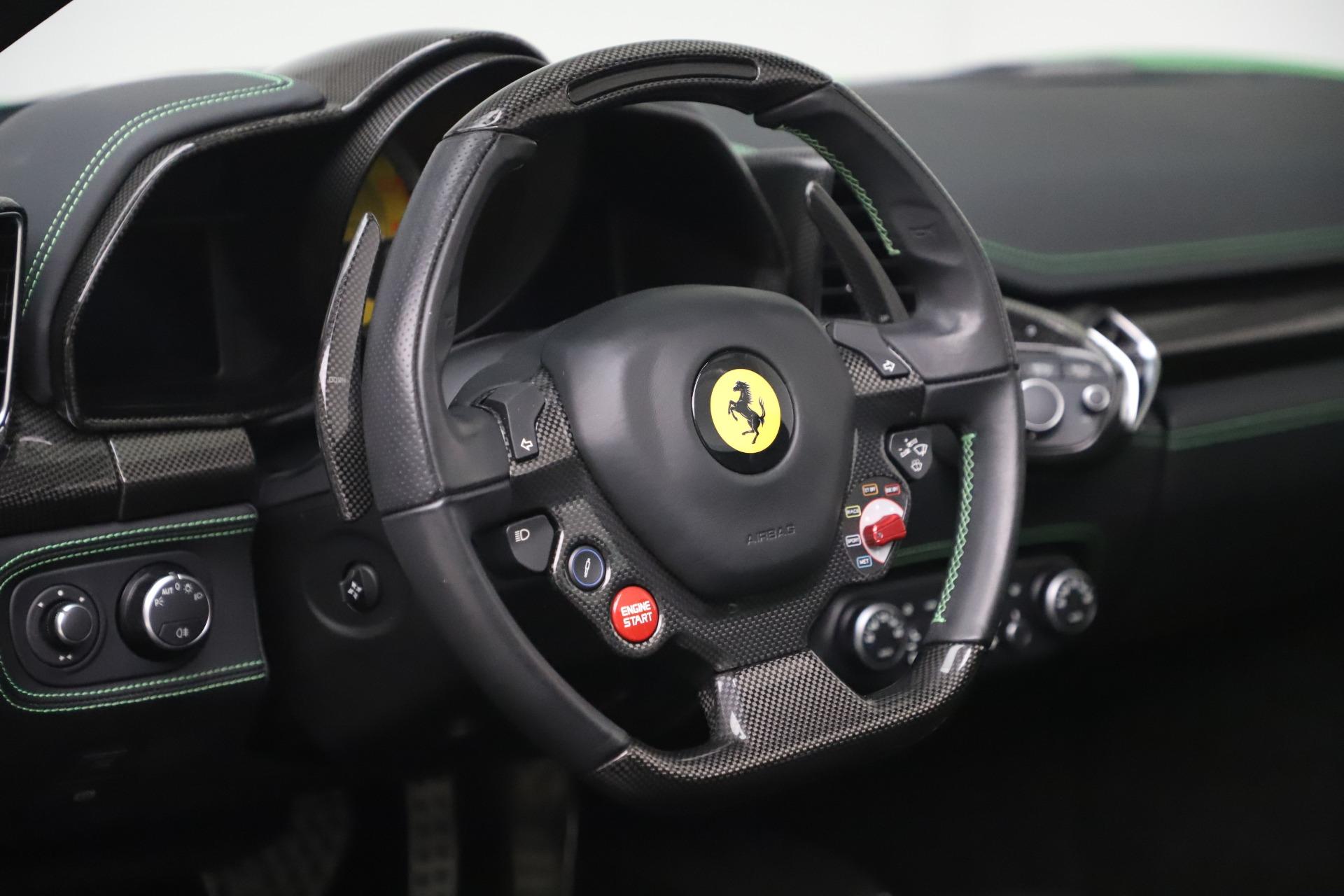 Used 2015 Ferrari 458 Spider  For Sale In Greenwich, CT. Alfa Romeo of Greenwich, 4613 3580_p26
