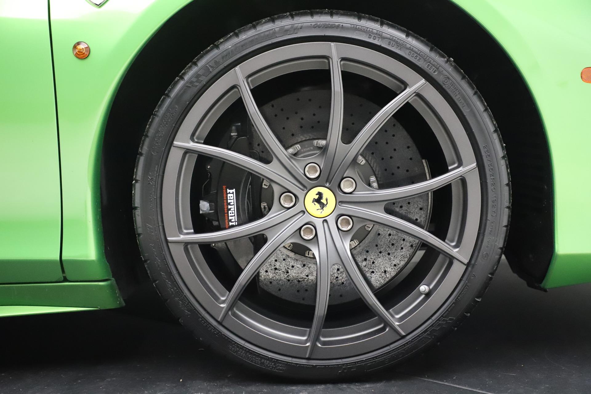 Used 2015 Ferrari 458 Spider  For Sale In Greenwich, CT. Alfa Romeo of Greenwich, 4613 3580_p30