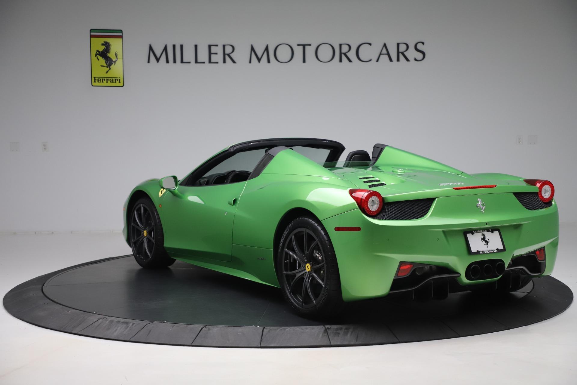 Used 2015 Ferrari 458 Spider  For Sale In Greenwich, CT. Alfa Romeo of Greenwich, 4613 3580_p5