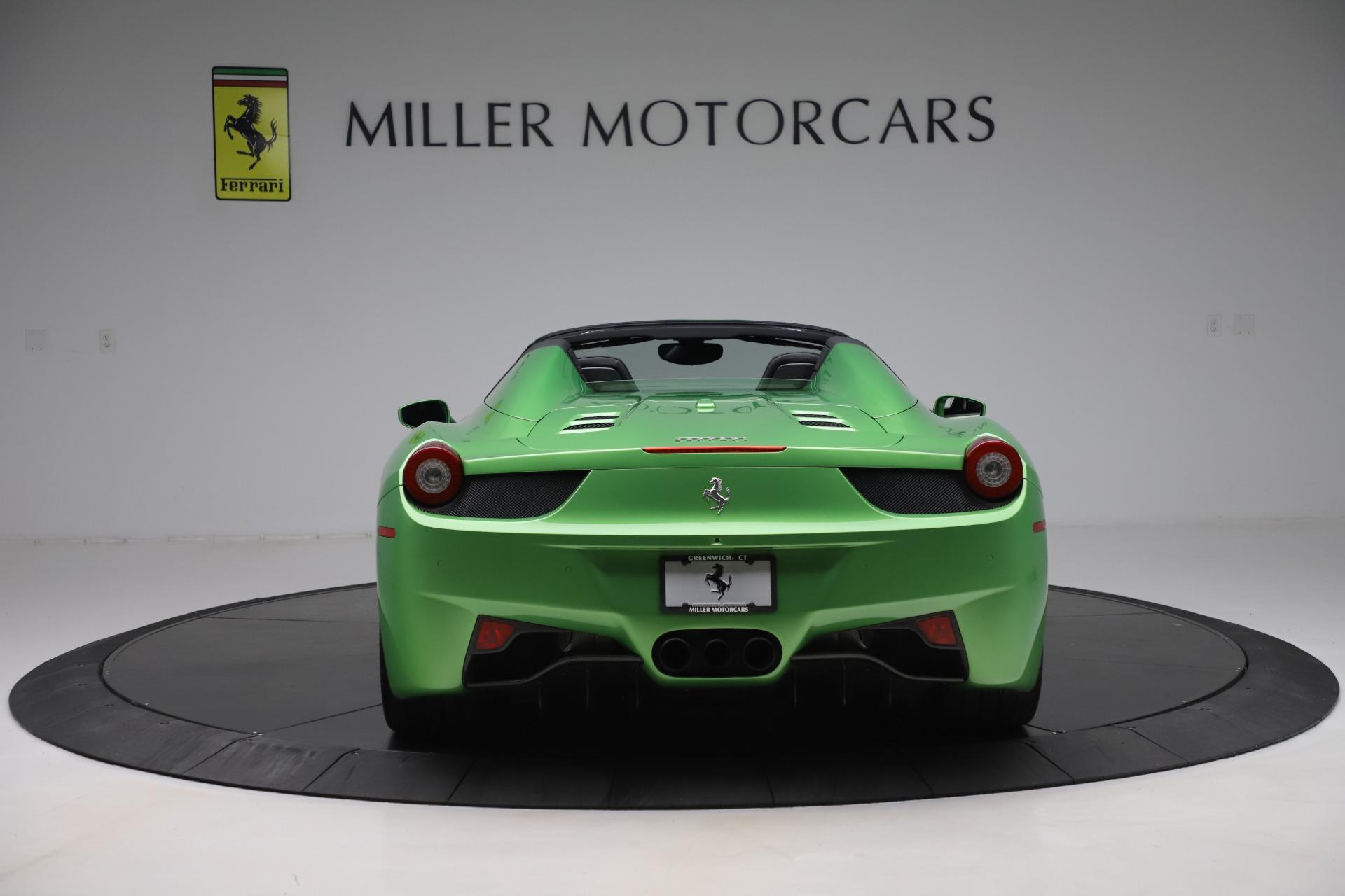 Used 2015 Ferrari 458 Spider  For Sale In Greenwich, CT. Alfa Romeo of Greenwich, 4613 3580_p6