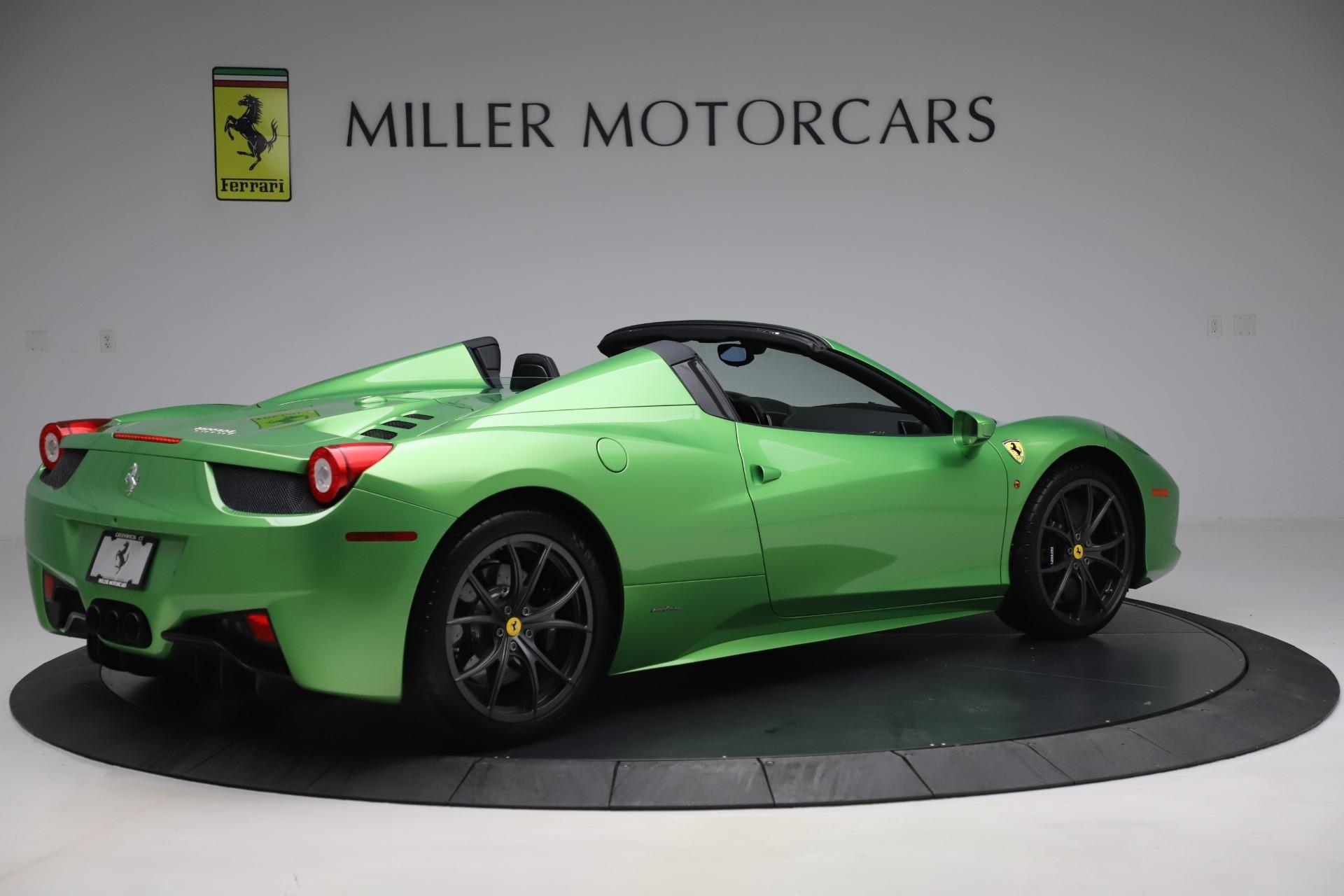Used 2015 Ferrari 458 Spider  For Sale In Greenwich, CT. Alfa Romeo of Greenwich, 4613 3580_p8