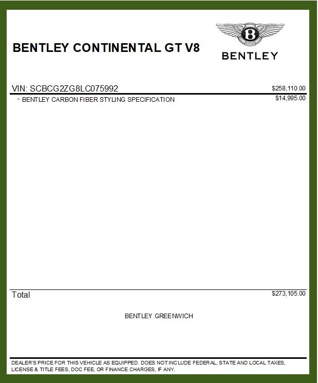 New 2020 Bentley Continental GT V8 For Sale In Greenwich, CT. Alfa Romeo of Greenwich, B1449 3590_p37