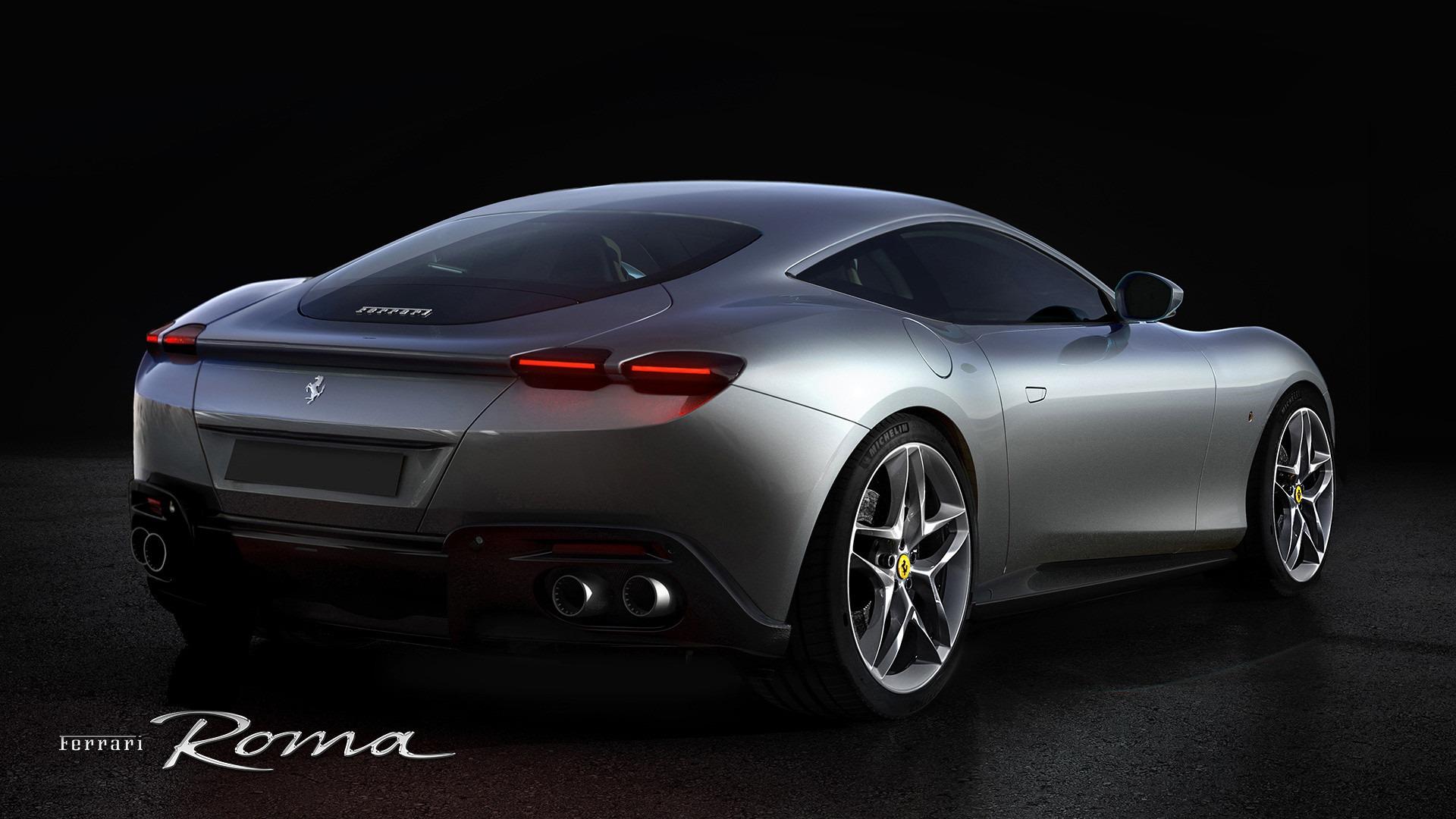 New 2020 Ferrari Roma  For Sale In Greenwich, CT. Alfa Romeo of Greenwich, XXX003 3594_p4