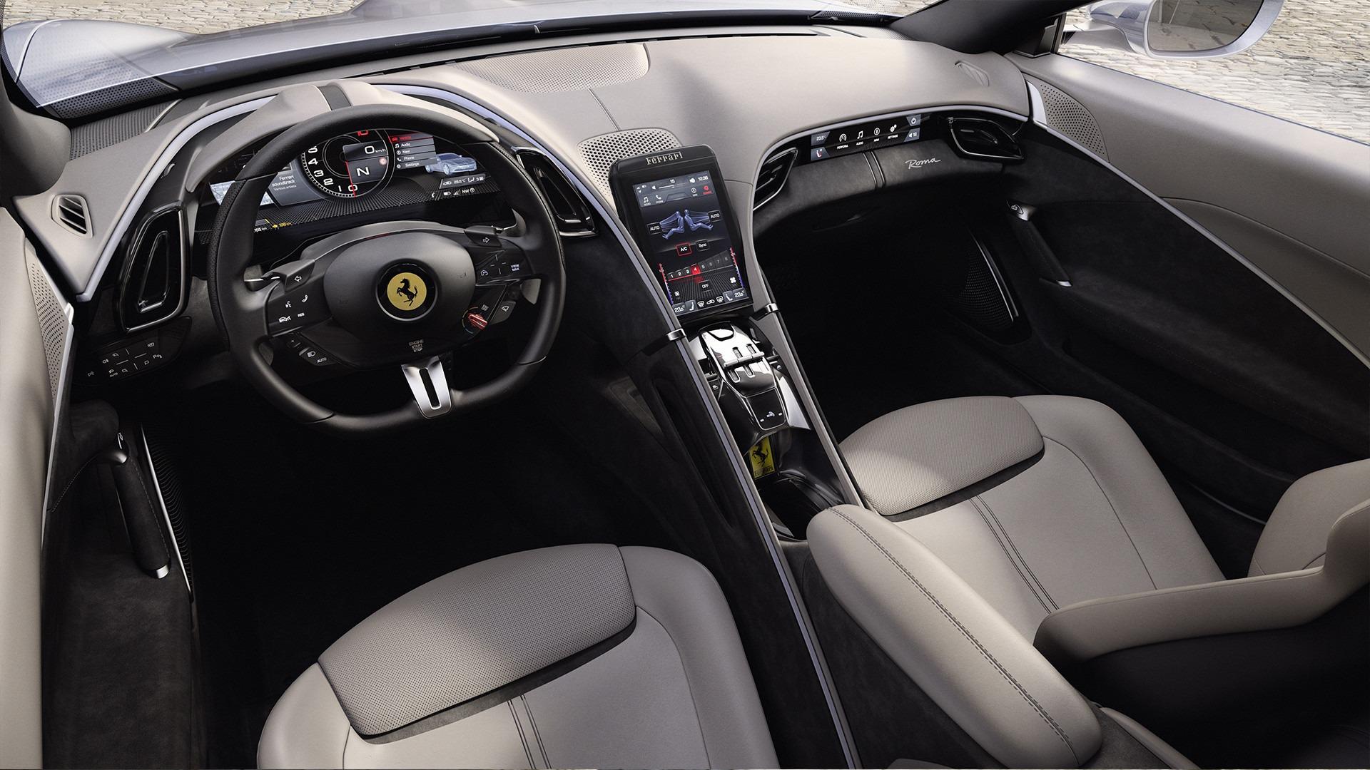 New 2020 Ferrari Roma  For Sale In Greenwich, CT. Alfa Romeo of Greenwich, XXX003 3594_p5