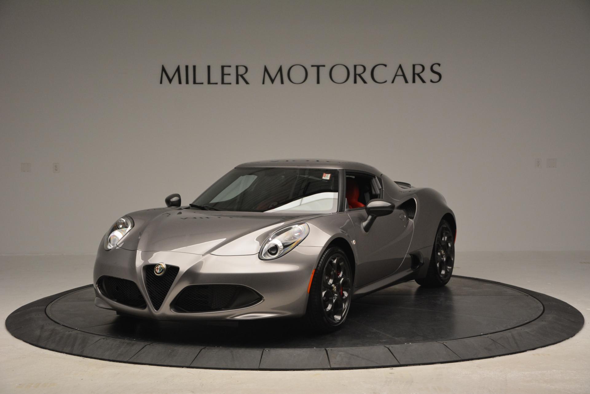 New 2016 Alfa Romeo 4C  For Sale In Greenwich, CT. Alfa Romeo of Greenwich, L035 4_main