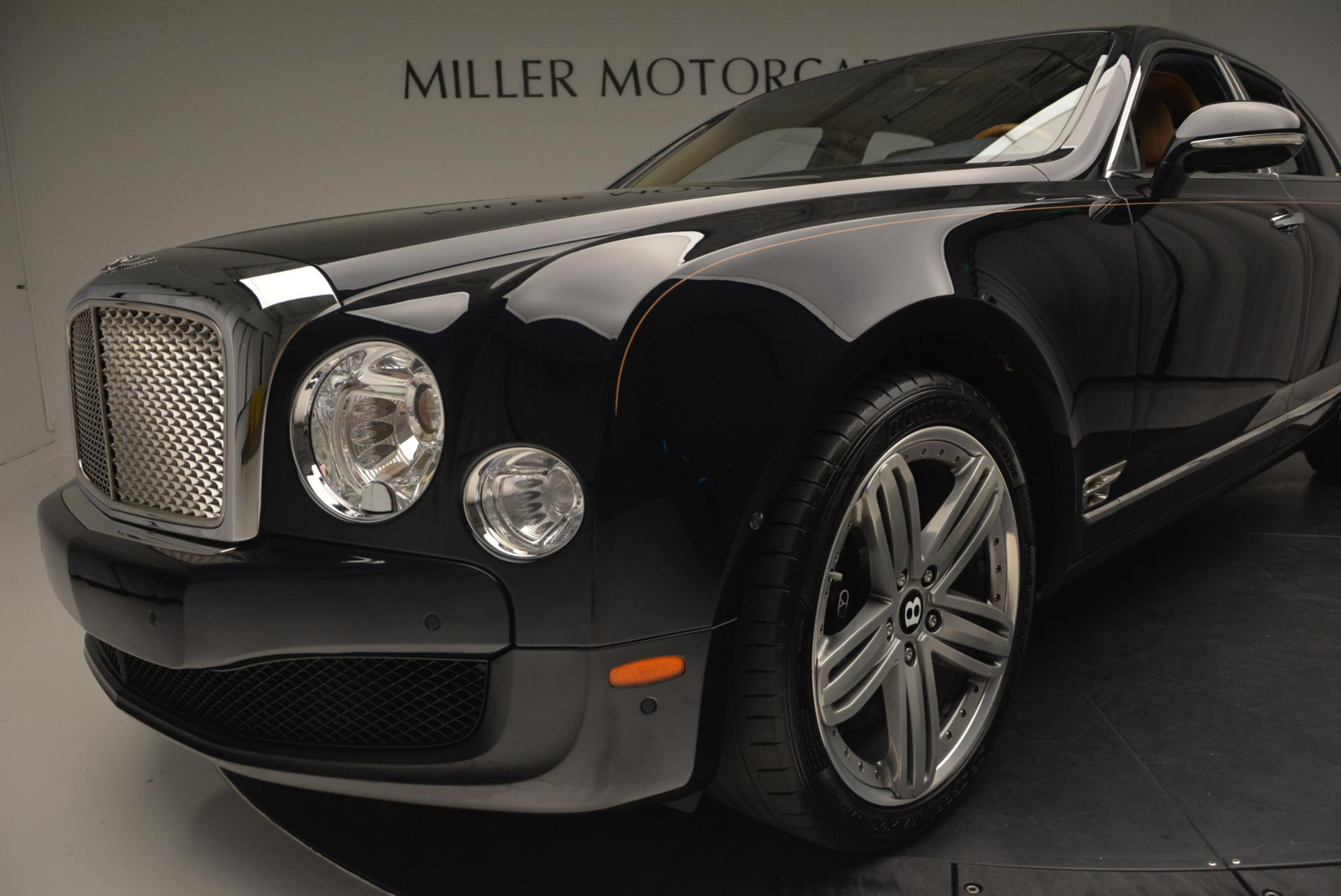Used 2013 Bentley Mulsanne Le Mans Edition- Number 1 of 48 For Sale In Greenwich, CT. Alfa Romeo of Greenwich, R310A 40_p15
