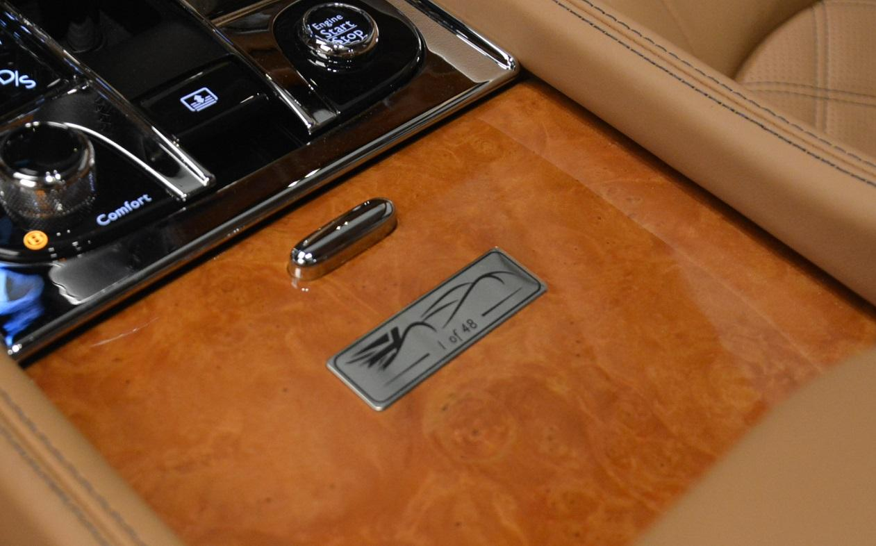Used 2013 Bentley Mulsanne Le Mans Edition- Number 1 of 48 For Sale In Greenwich, CT. Alfa Romeo of Greenwich, R310A 40_p31