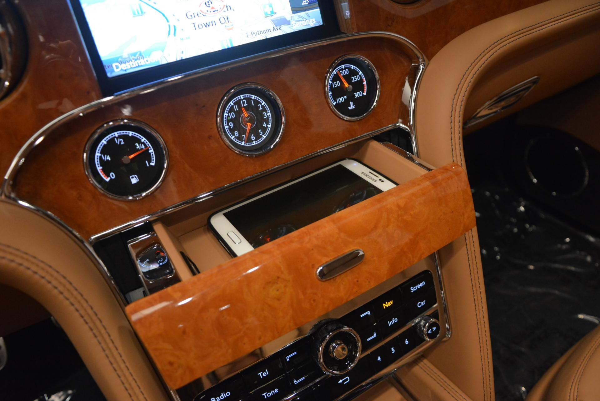 Used 2013 Bentley Mulsanne Le Mans Edition- Number 1 of 48 For Sale In Greenwich, CT. Alfa Romeo of Greenwich, R310A 40_p37