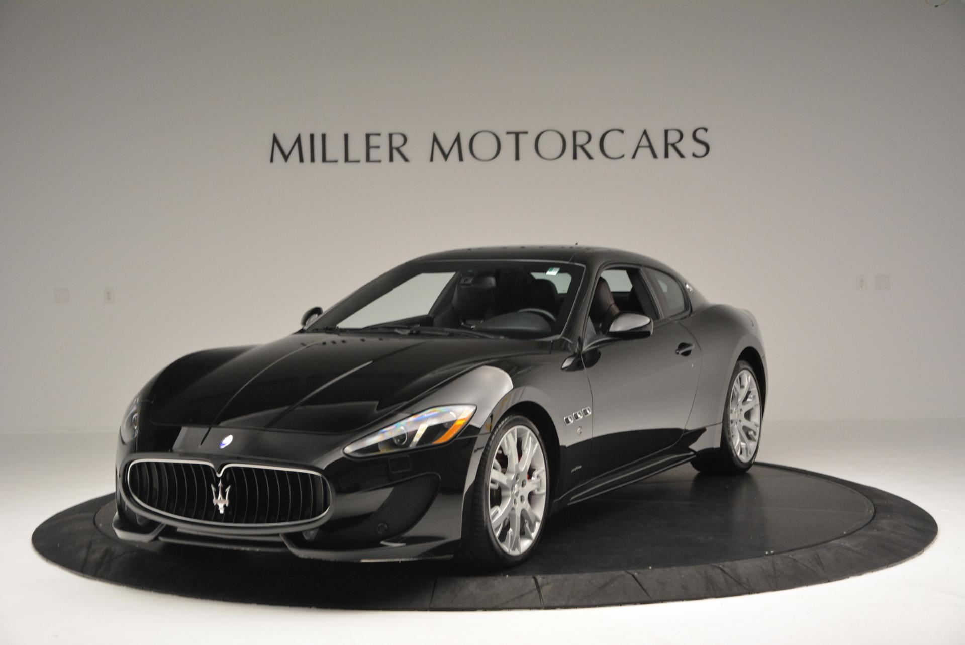 Used 2013 Maserati GranTurismo Sport For Sale In Greenwich, CT. Alfa Romeo of Greenwich, 1264 46_main