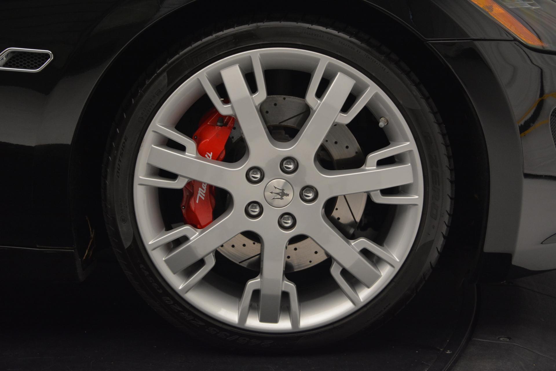 Used 2013 Maserati GranTurismo Sport For Sale In Greenwich, CT. Alfa Romeo of Greenwich, 1264 46_p21