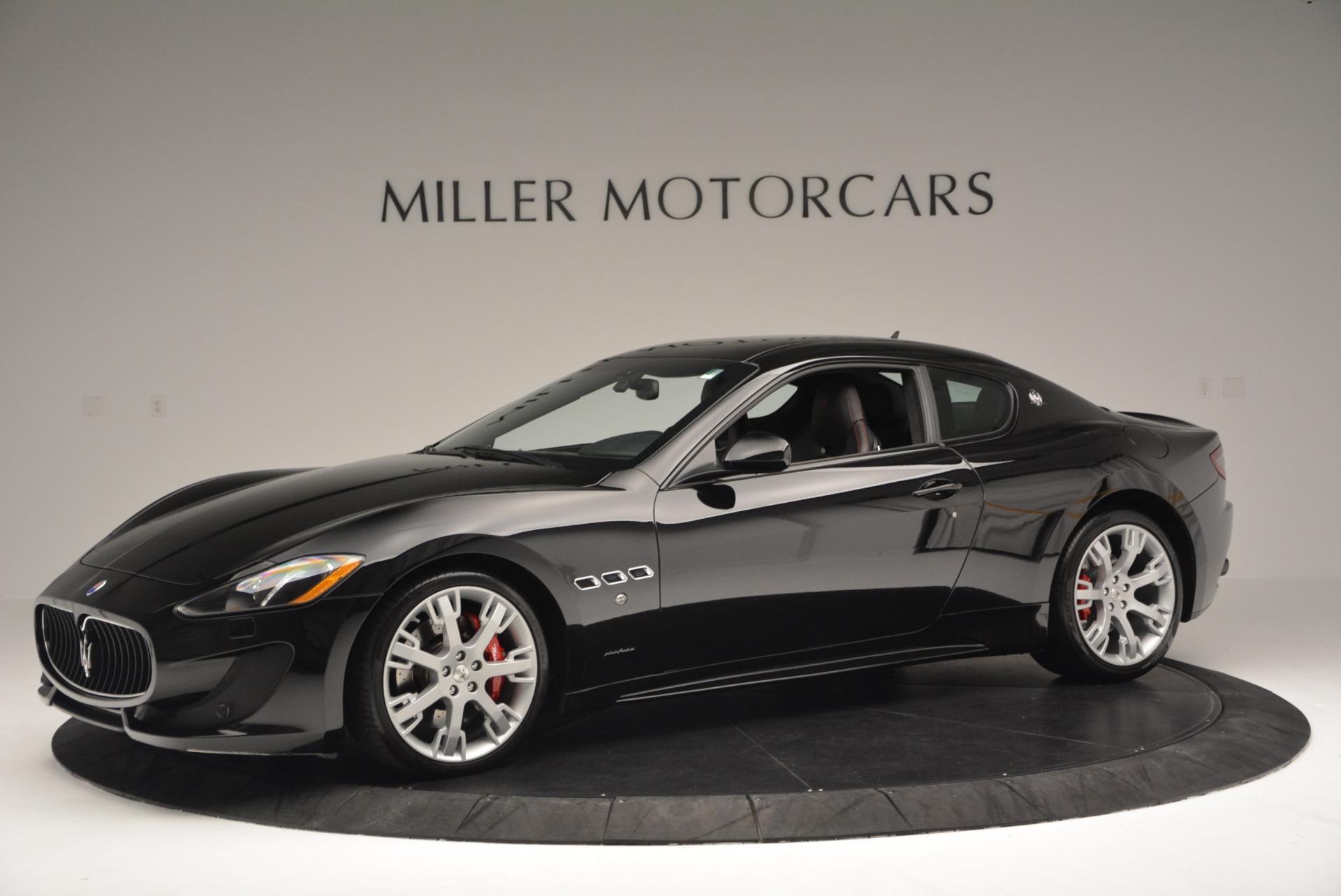 Used 2013 Maserati GranTurismo Sport For Sale In Greenwich, CT. Alfa Romeo of Greenwich, 1264 46_p2