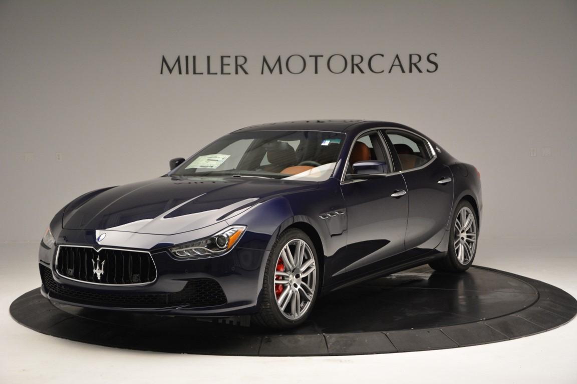 New 2016 Maserati Ghibli S Q4 For Sale In Greenwich, CT. Alfa Romeo of Greenwich, W241 48_main