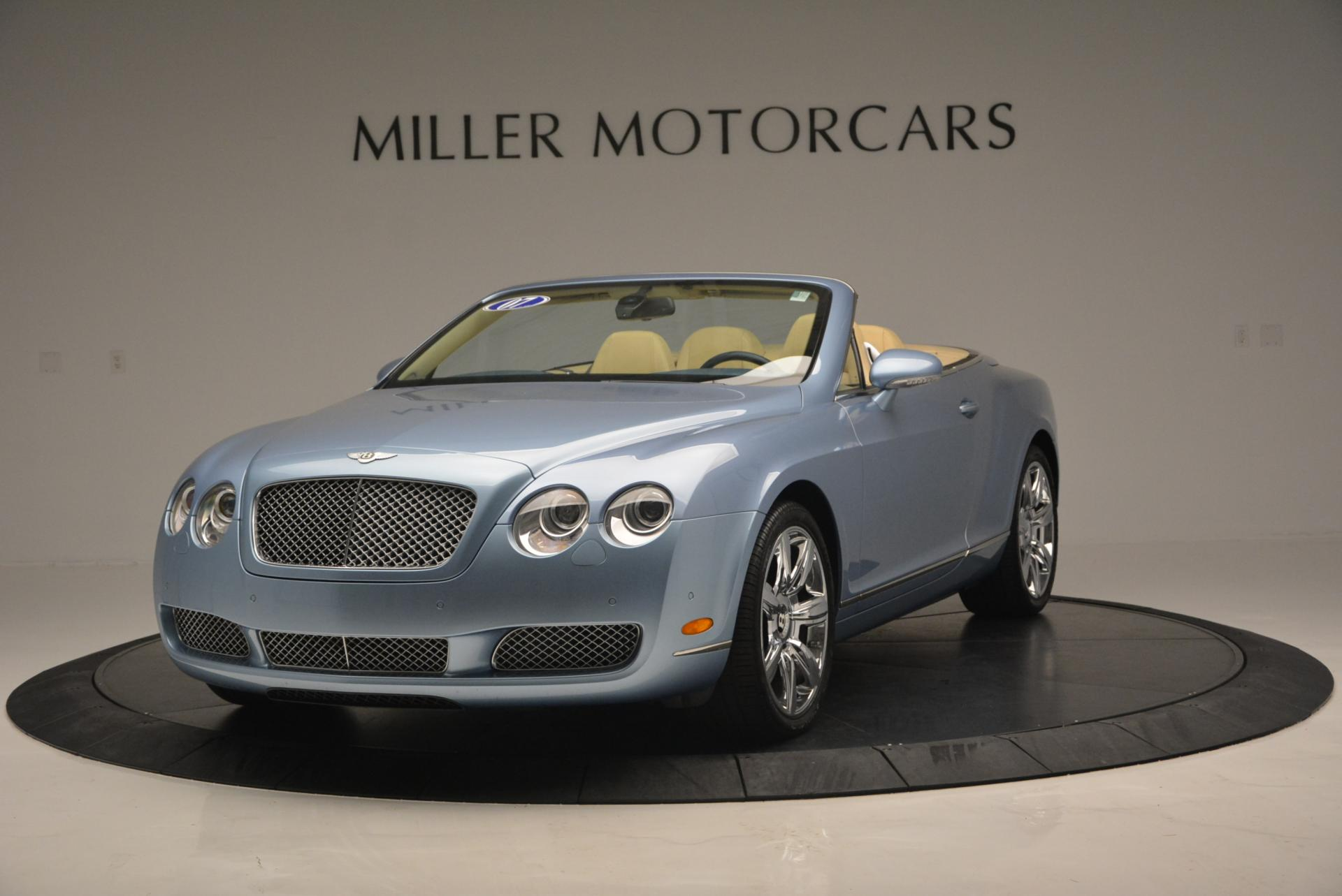 Used 2007 Bentley Continental GTC  For Sale In Greenwich, CT. Alfa Romeo of Greenwich, B1159A 495_main