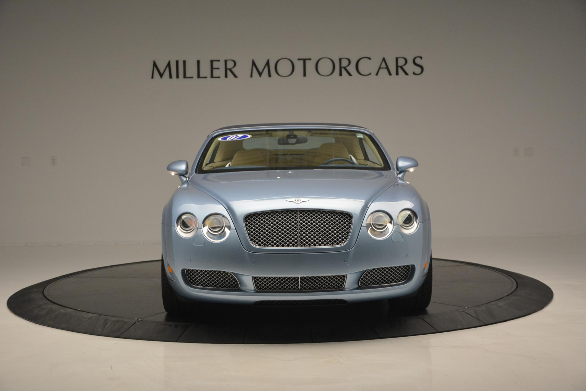 Used 2007 Bentley Continental GTC  For Sale In Greenwich, CT. Alfa Romeo of Greenwich, B1159A 495_p12