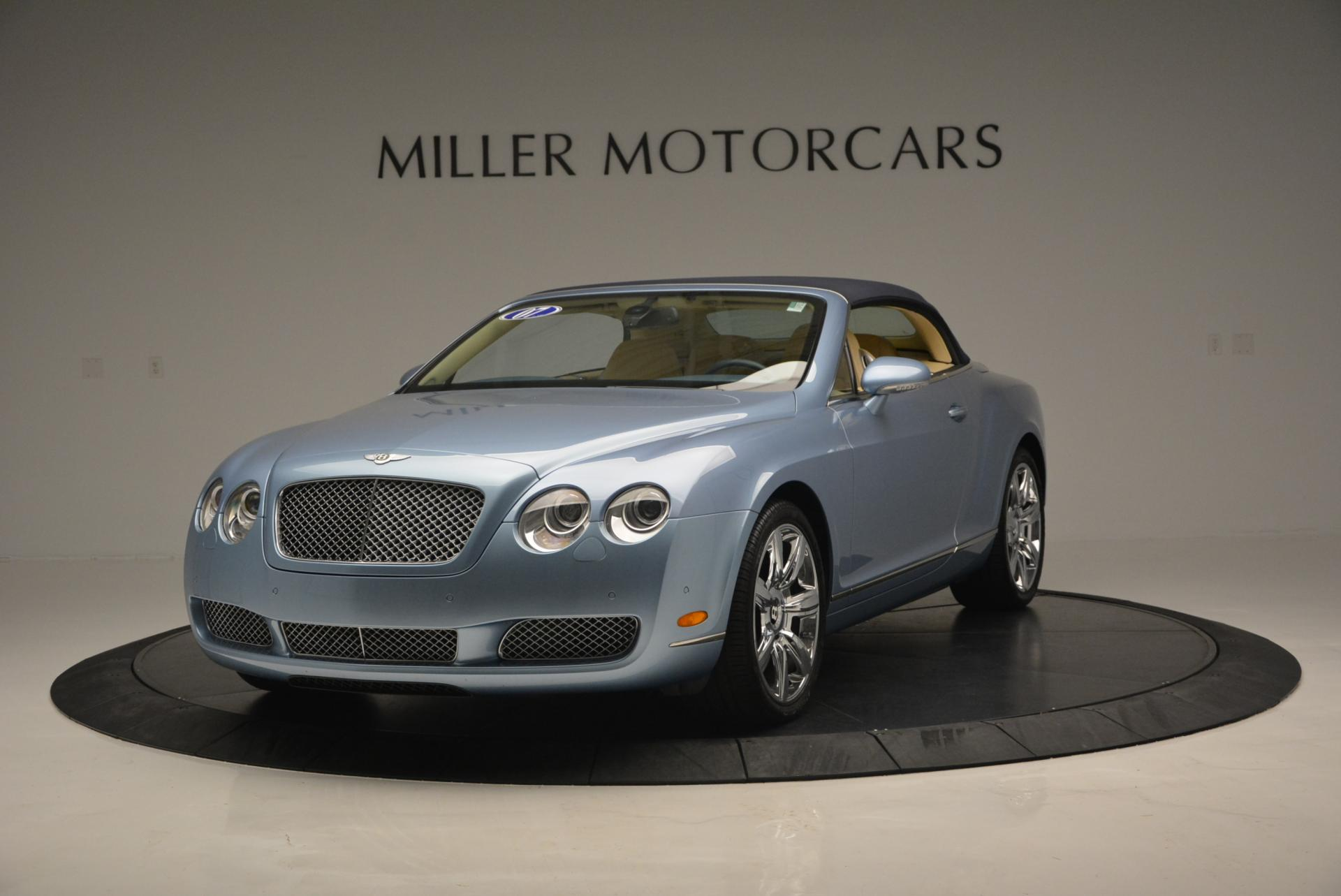 Used 2007 Bentley Continental GTC  For Sale In Greenwich, CT. Alfa Romeo of Greenwich, B1159A 495_p13