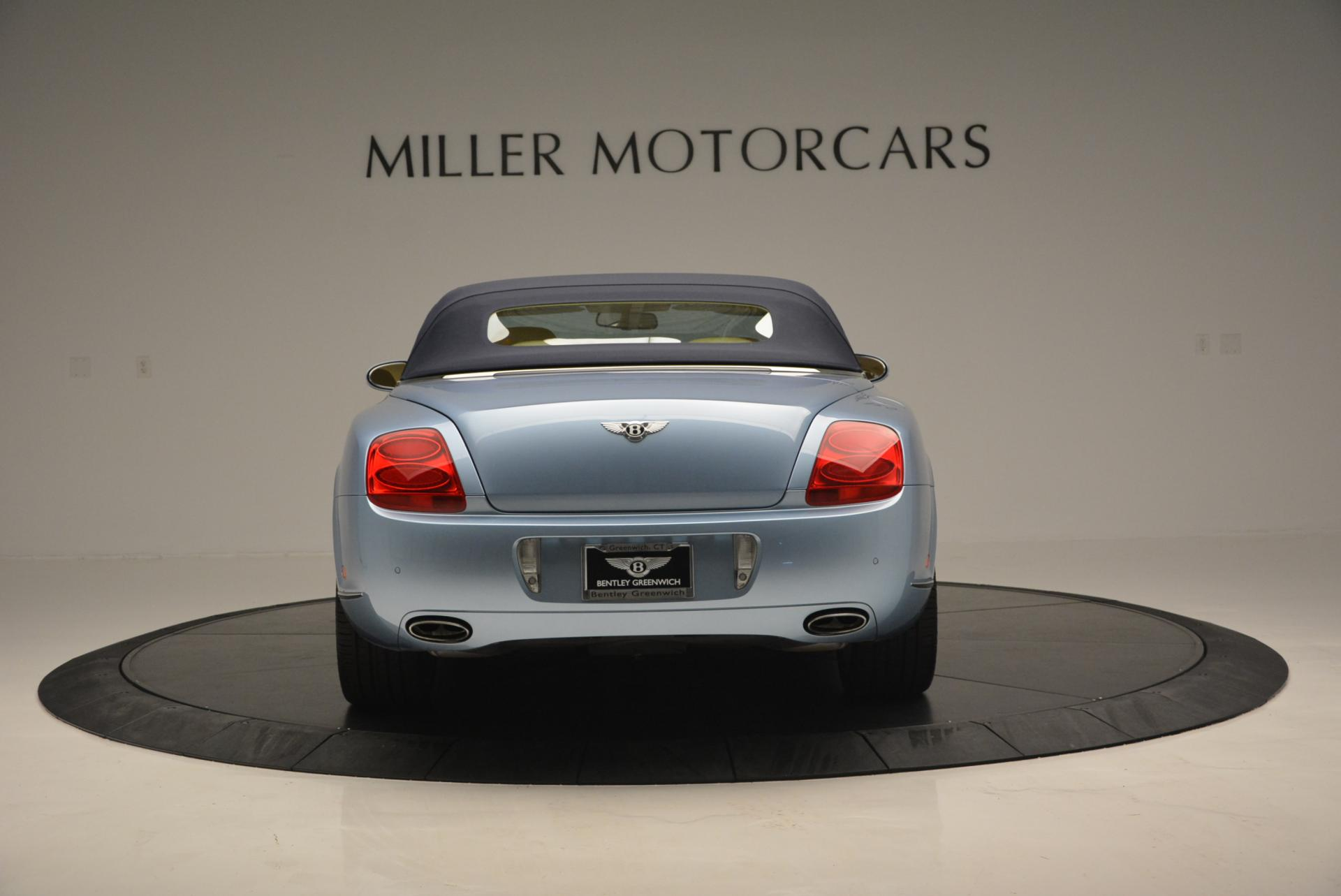 Used 2007 Bentley Continental GTC  For Sale In Greenwich, CT. Alfa Romeo of Greenwich, B1159A 495_p18