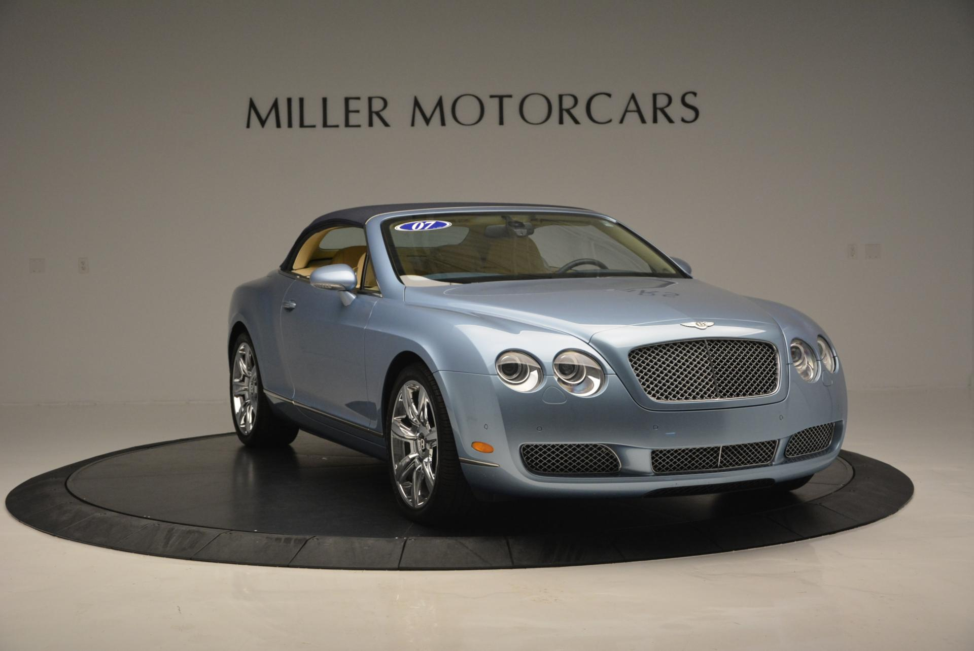 Used 2007 Bentley Continental GTC  For Sale In Greenwich, CT. Alfa Romeo of Greenwich, B1159A 495_p23