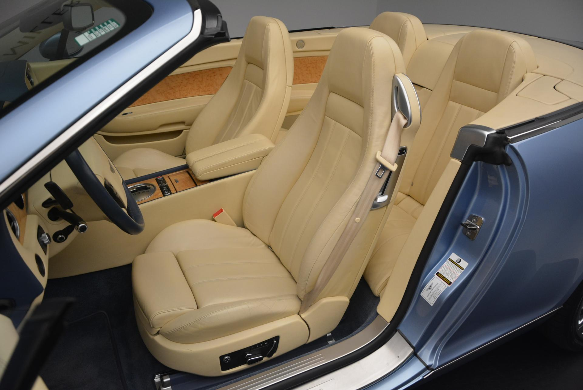 Used 2007 Bentley Continental GTC  For Sale In Greenwich, CT. Alfa Romeo of Greenwich, B1159A 495_p33