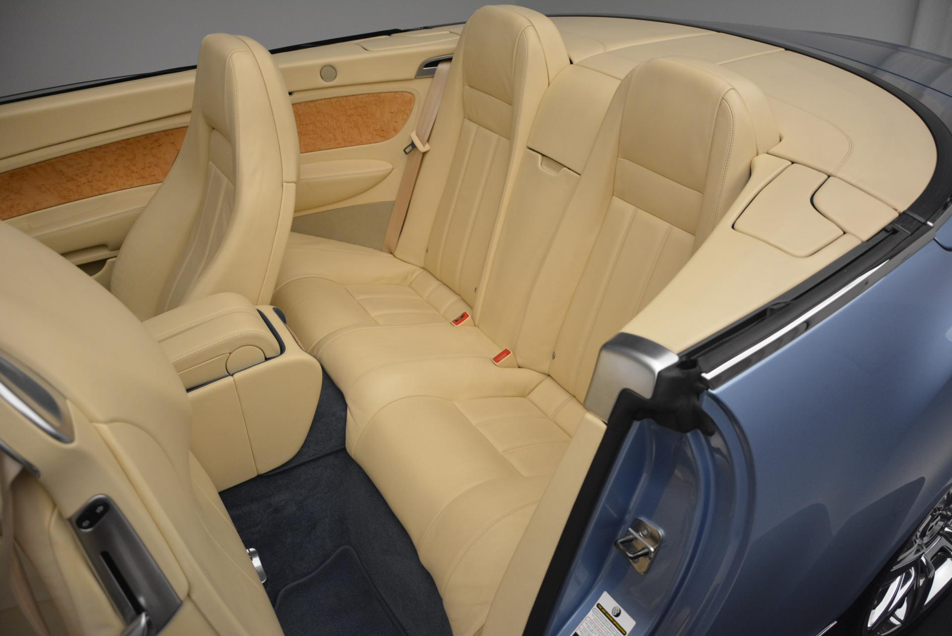 Used 2007 Bentley Continental GTC  For Sale In Greenwich, CT. Alfa Romeo of Greenwich, B1159A 495_p34