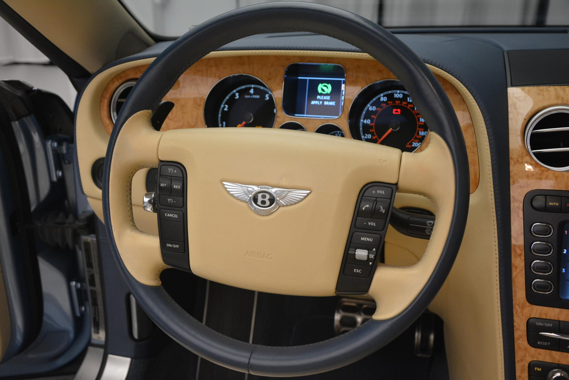 Used 2007 Bentley Continental GTC  For Sale In Greenwich, CT. Alfa Romeo of Greenwich, B1159A 495_p40