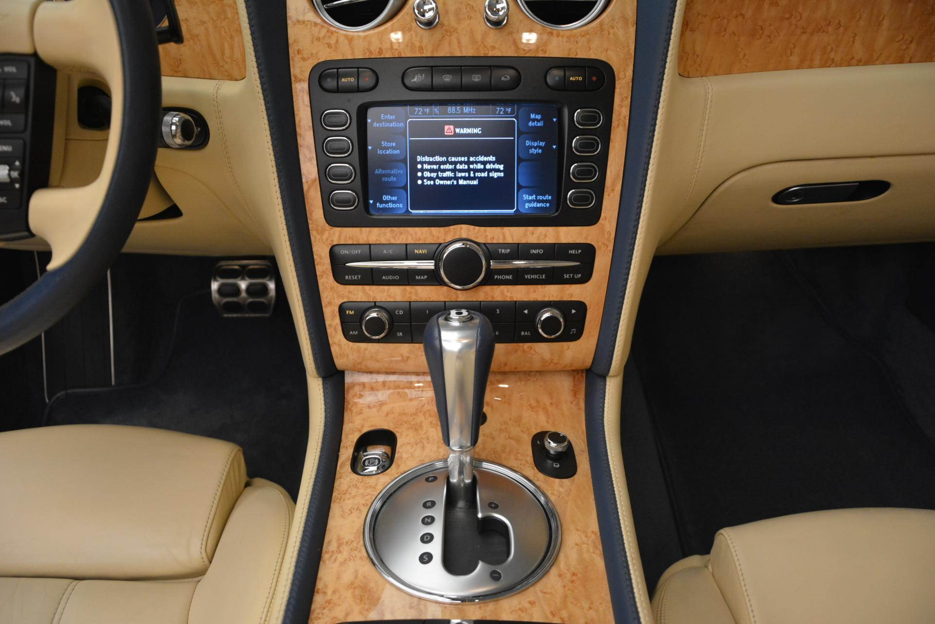 Used 2007 Bentley Continental GTC  For Sale In Greenwich, CT. Alfa Romeo of Greenwich, B1159A 495_p41