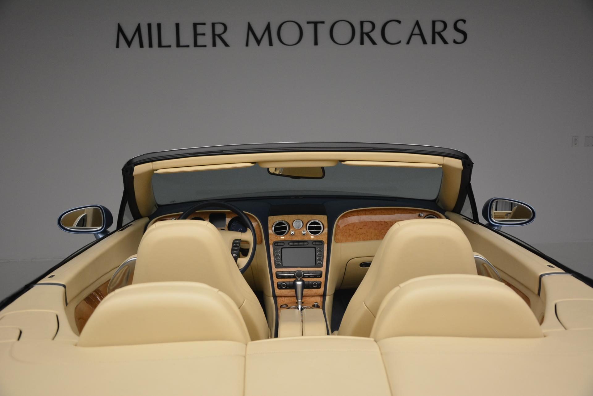 Used 2007 Bentley Continental GTC  For Sale In Greenwich, CT. Alfa Romeo of Greenwich, B1159A 495_p45
