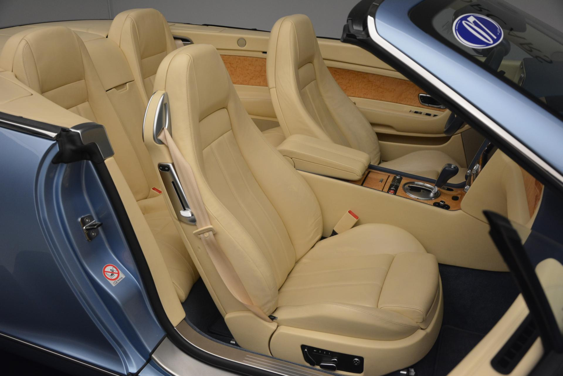 Used 2007 Bentley Continental GTC  For Sale In Greenwich, CT. Alfa Romeo of Greenwich, B1159A 495_p48