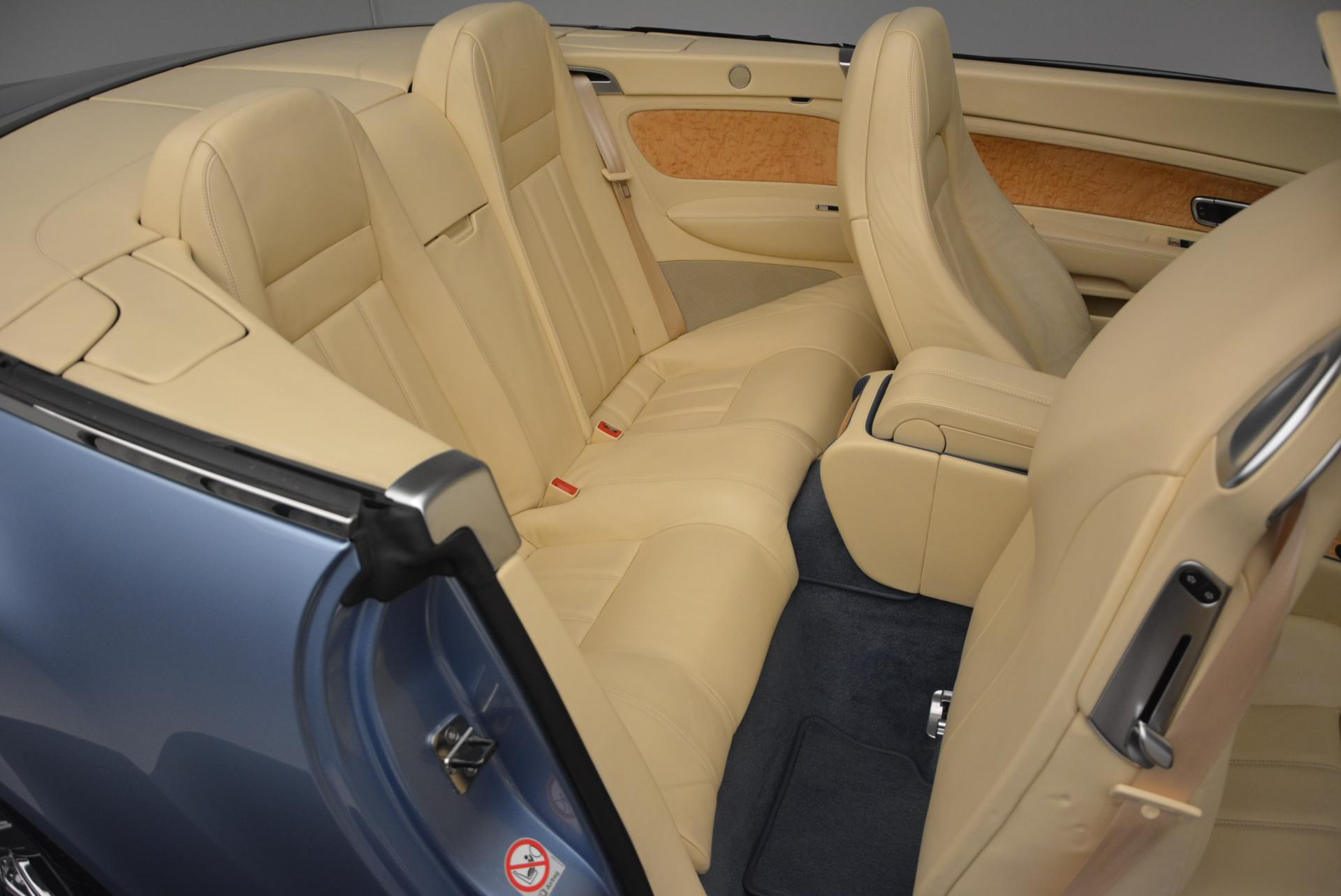 Used 2007 Bentley Continental GTC  For Sale In Greenwich, CT. Alfa Romeo of Greenwich, B1159A 495_p49