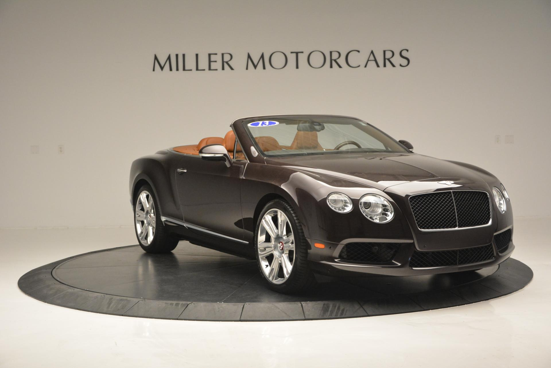 Used 2013 Bentley Continental GTC V8  For Sale In Greenwich, CT. Alfa Romeo of Greenwich, 7059 498_p11