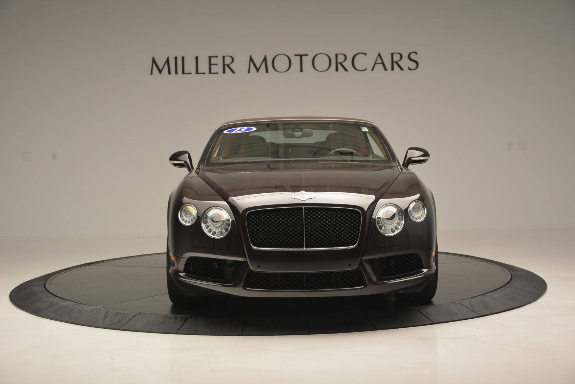 Used 2013 Bentley Continental GTC V8  For Sale In Greenwich, CT. Alfa Romeo of Greenwich, 7059 498_p13