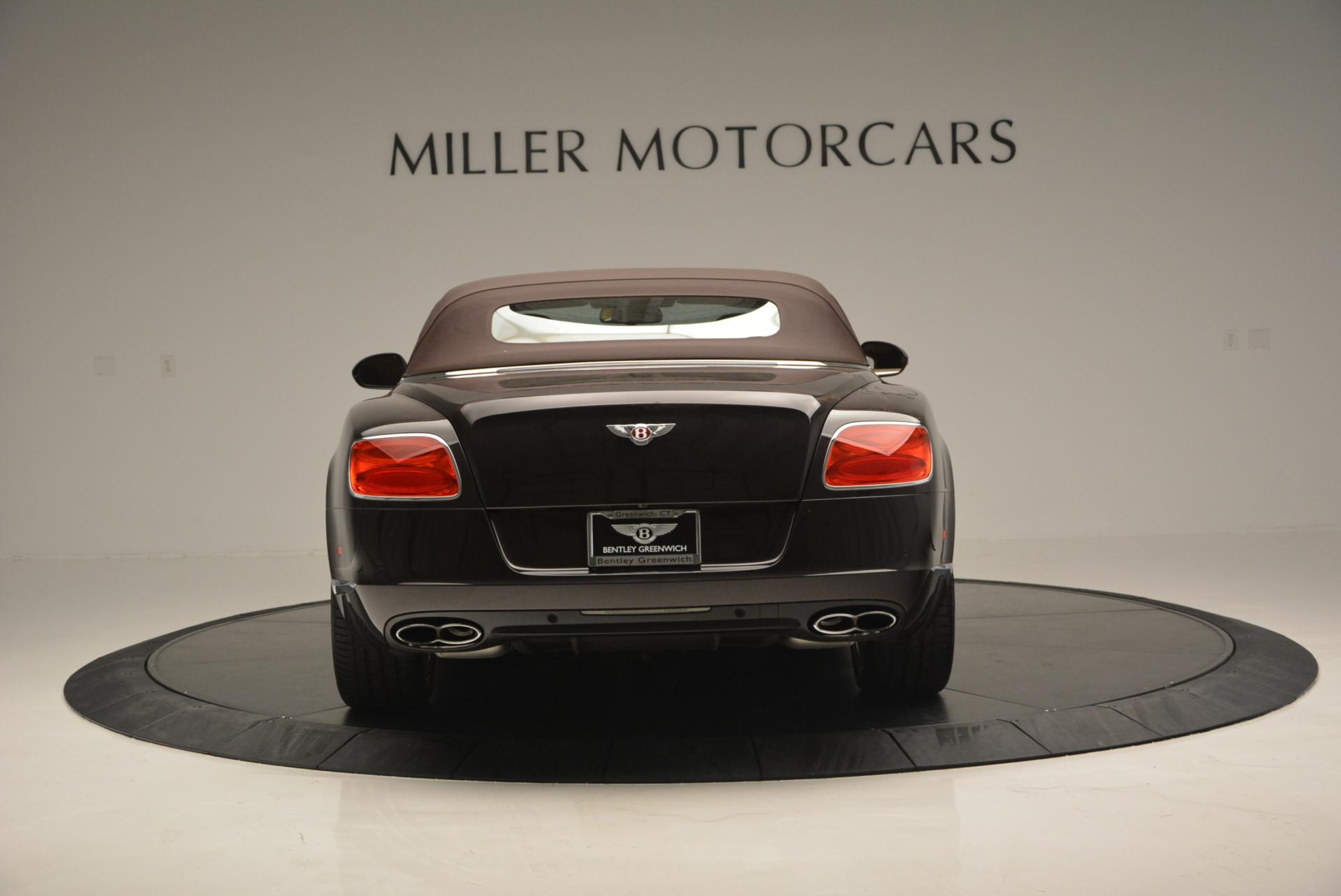 Used 2013 Bentley Continental GTC V8  For Sale In Greenwich, CT. Alfa Romeo of Greenwich, 7059 498_p19