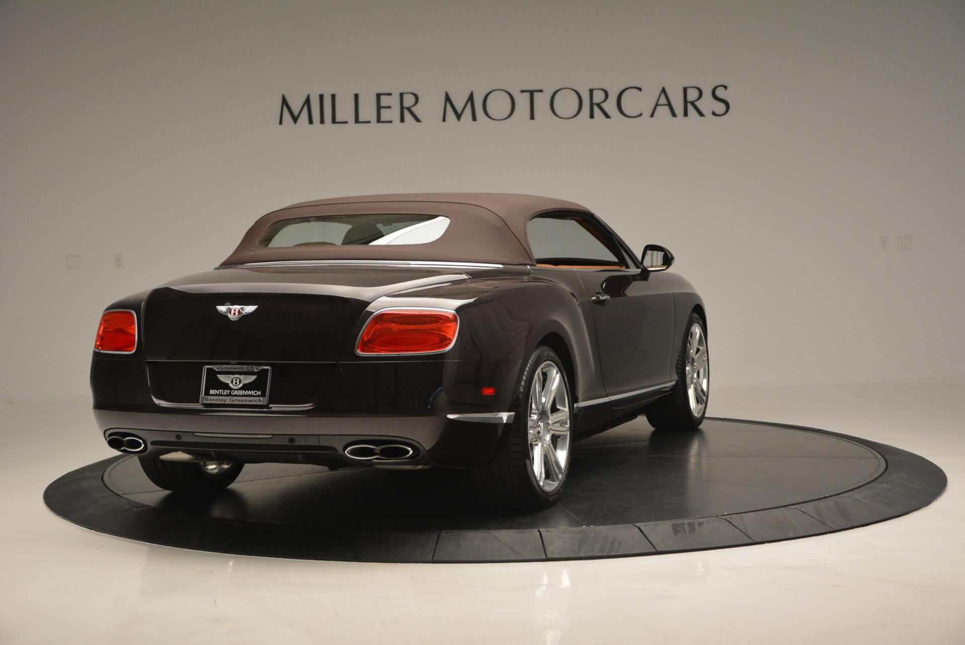 Used 2013 Bentley Continental GTC V8  For Sale In Greenwich, CT. Alfa Romeo of Greenwich, 7059 498_p20