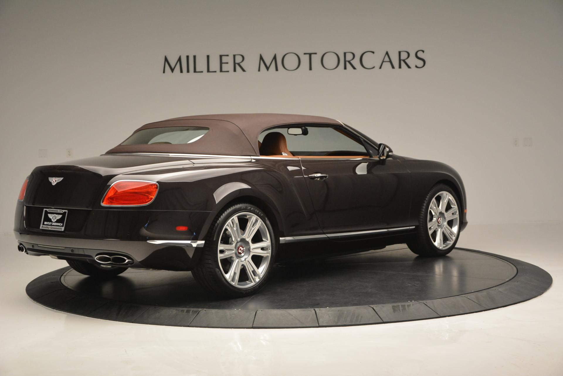 Used 2013 Bentley Continental GTC V8  For Sale In Greenwich, CT. Alfa Romeo of Greenwich, 7059 498_p21
