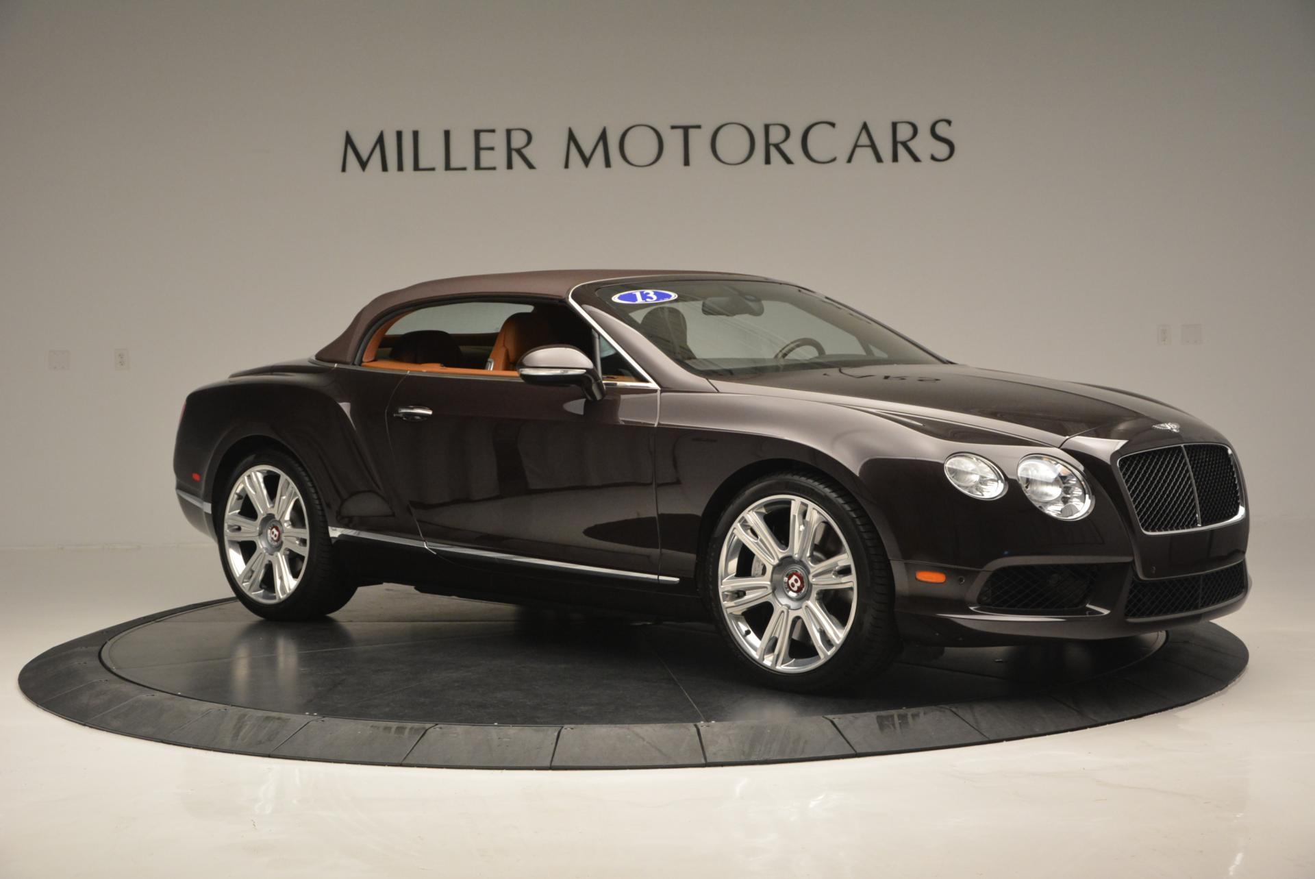 Used 2013 Bentley Continental GTC V8  For Sale In Greenwich, CT. Alfa Romeo of Greenwich, 7059 498_p23