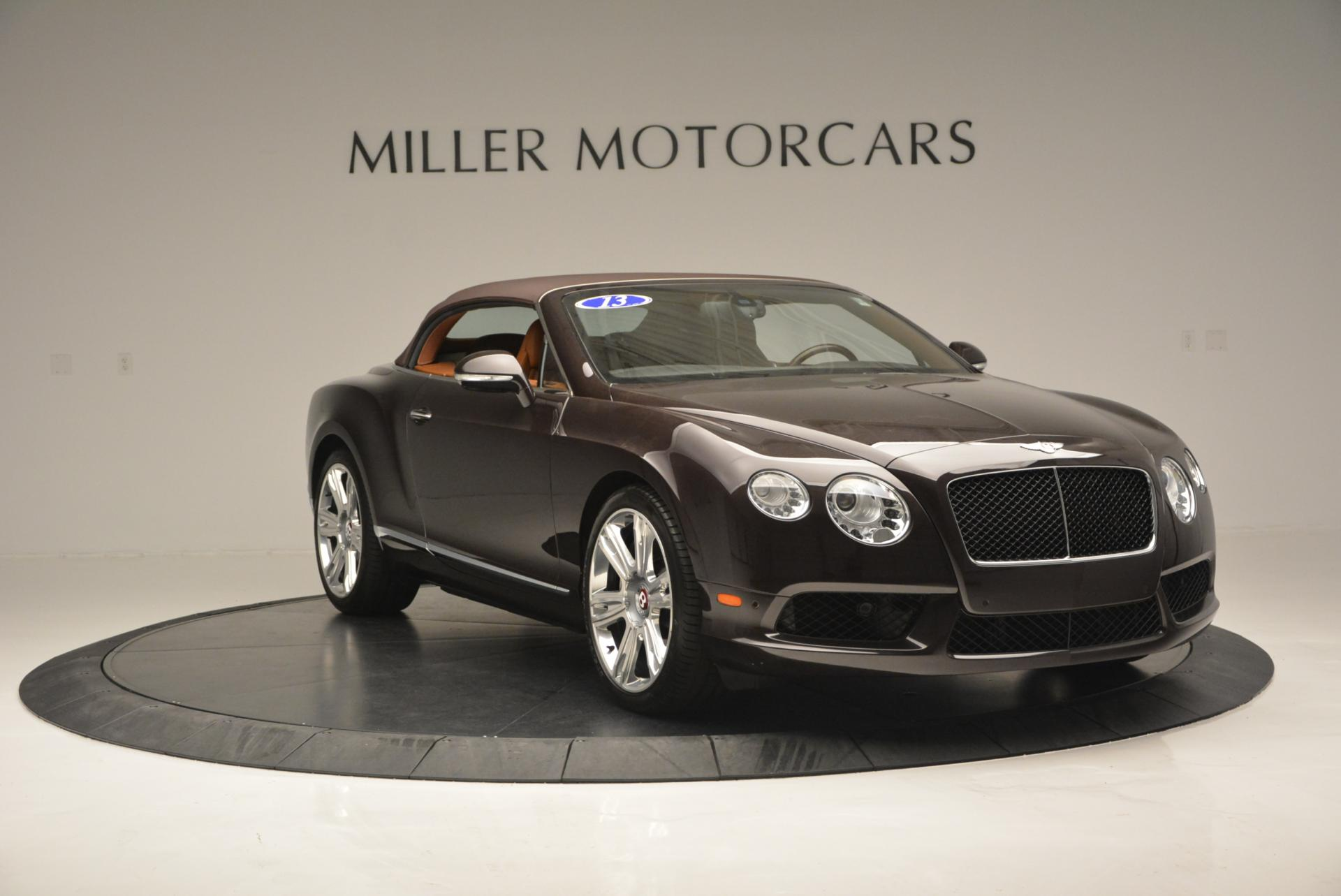 Used 2013 Bentley Continental GTC V8  For Sale In Greenwich, CT. Alfa Romeo of Greenwich, 7059 498_p24