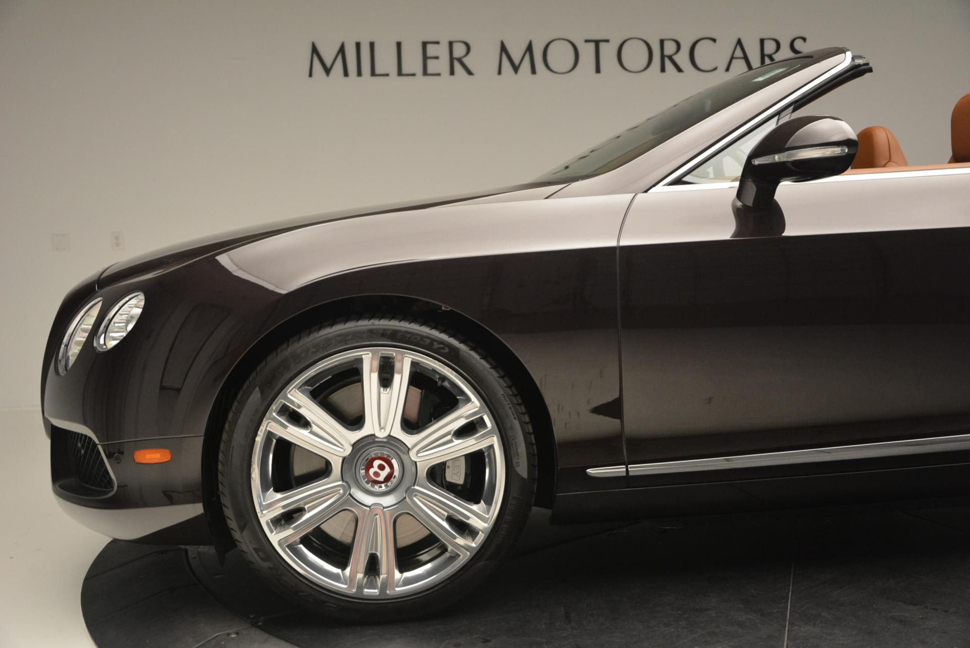 Used 2013 Bentley Continental GTC V8  For Sale In Greenwich, CT. Alfa Romeo of Greenwich, 7059 498_p30