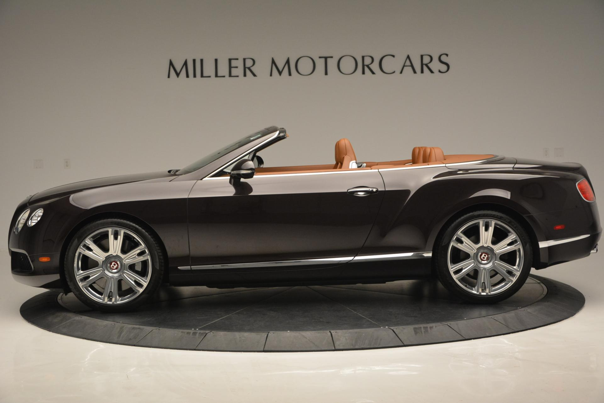 Used 2013 Bentley Continental GTC V8  For Sale In Greenwich, CT. Alfa Romeo of Greenwich, 7059 498_p3