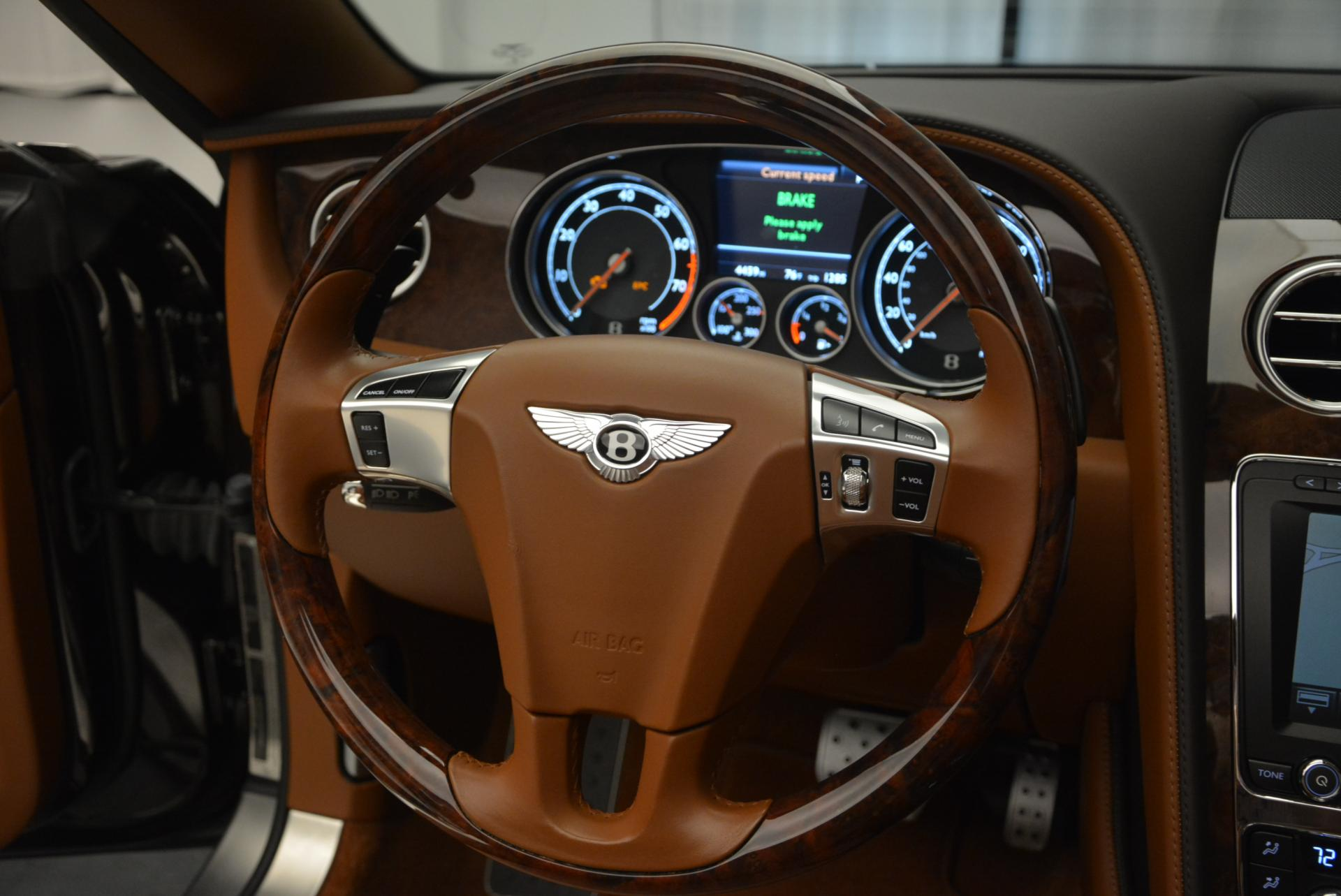 Used 2013 Bentley Continental GTC V8  For Sale In Greenwich, CT. Alfa Romeo of Greenwich, 7059 498_p40