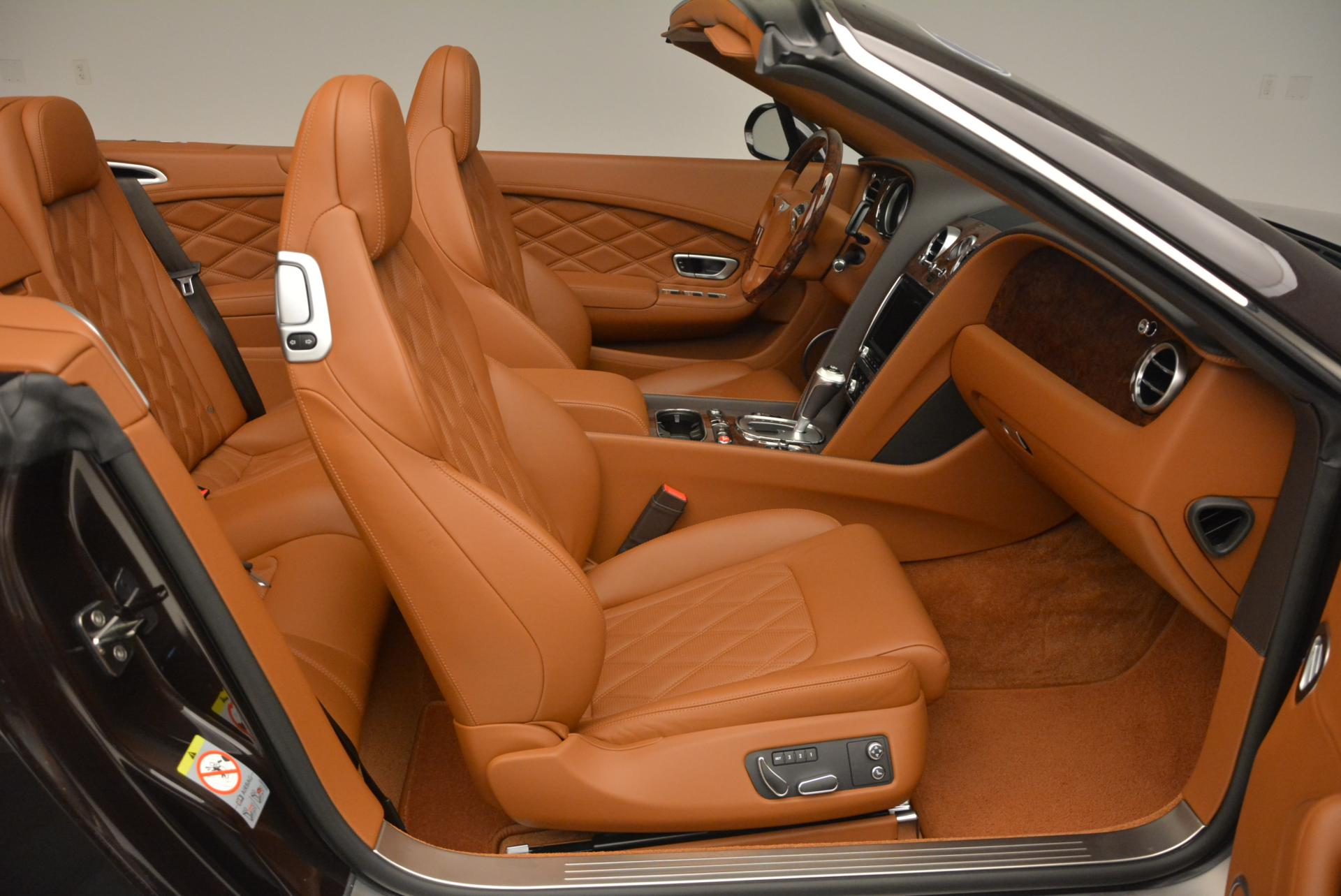 Used 2013 Bentley Continental GTC V8  For Sale In Greenwich, CT. Alfa Romeo of Greenwich, 7059 498_p49