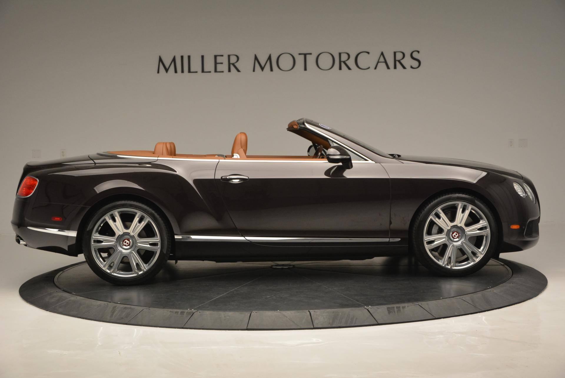 Used 2013 Bentley Continental GTC V8  For Sale In Greenwich, CT. Alfa Romeo of Greenwich, 7059 498_p9