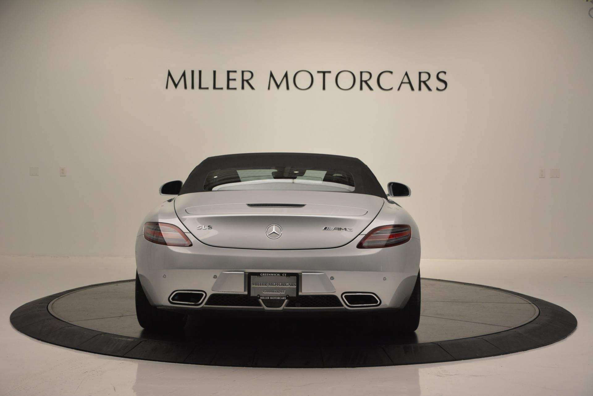 Used 2012 Mercedes Benz SLS AMG  For Sale In Greenwich, CT. Alfa Romeo of Greenwich, 7058 517_p18