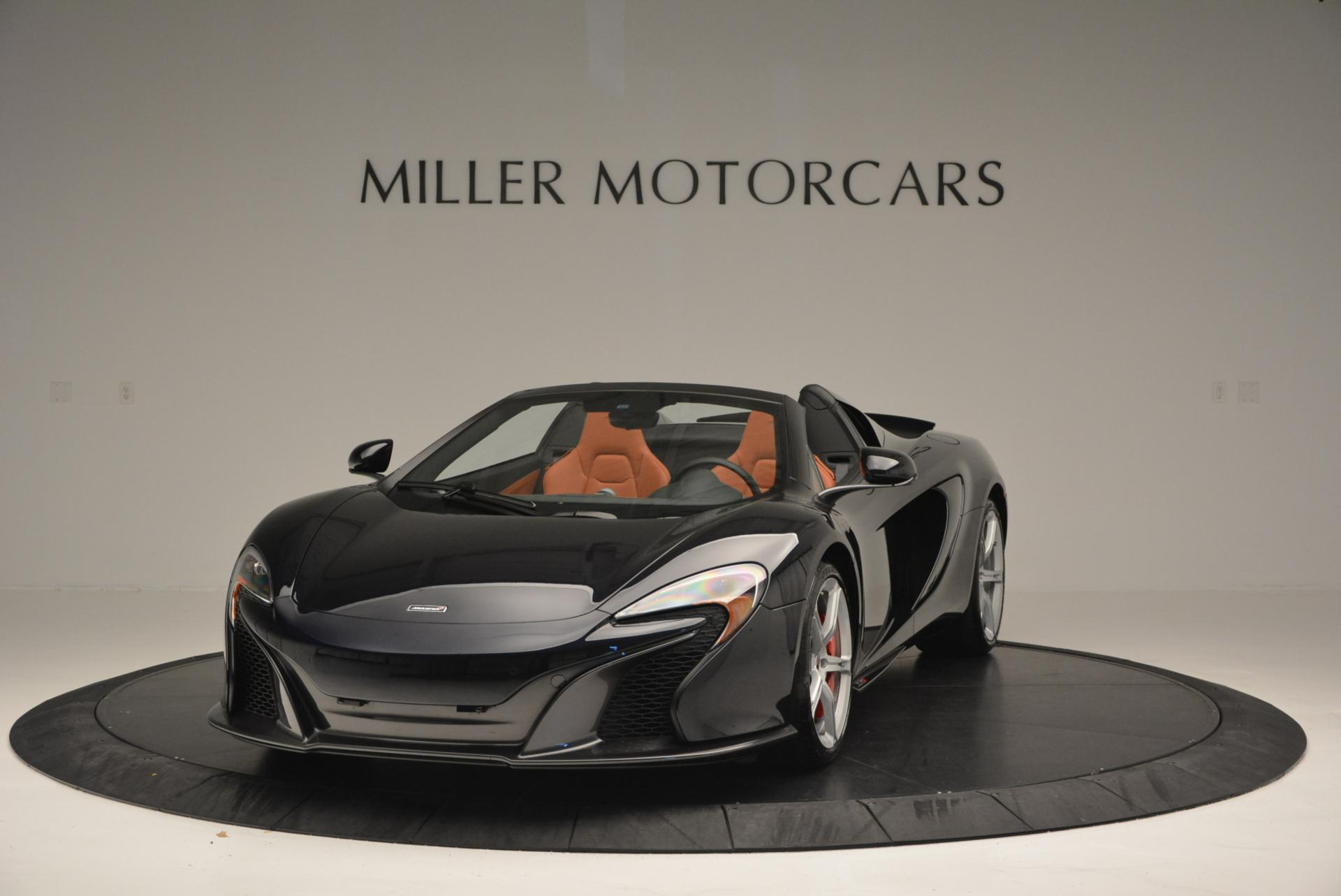 Used 2015 McLaren 650S Spider  For Sale In Greenwich, CT. Alfa Romeo of Greenwich, 3085 518_main