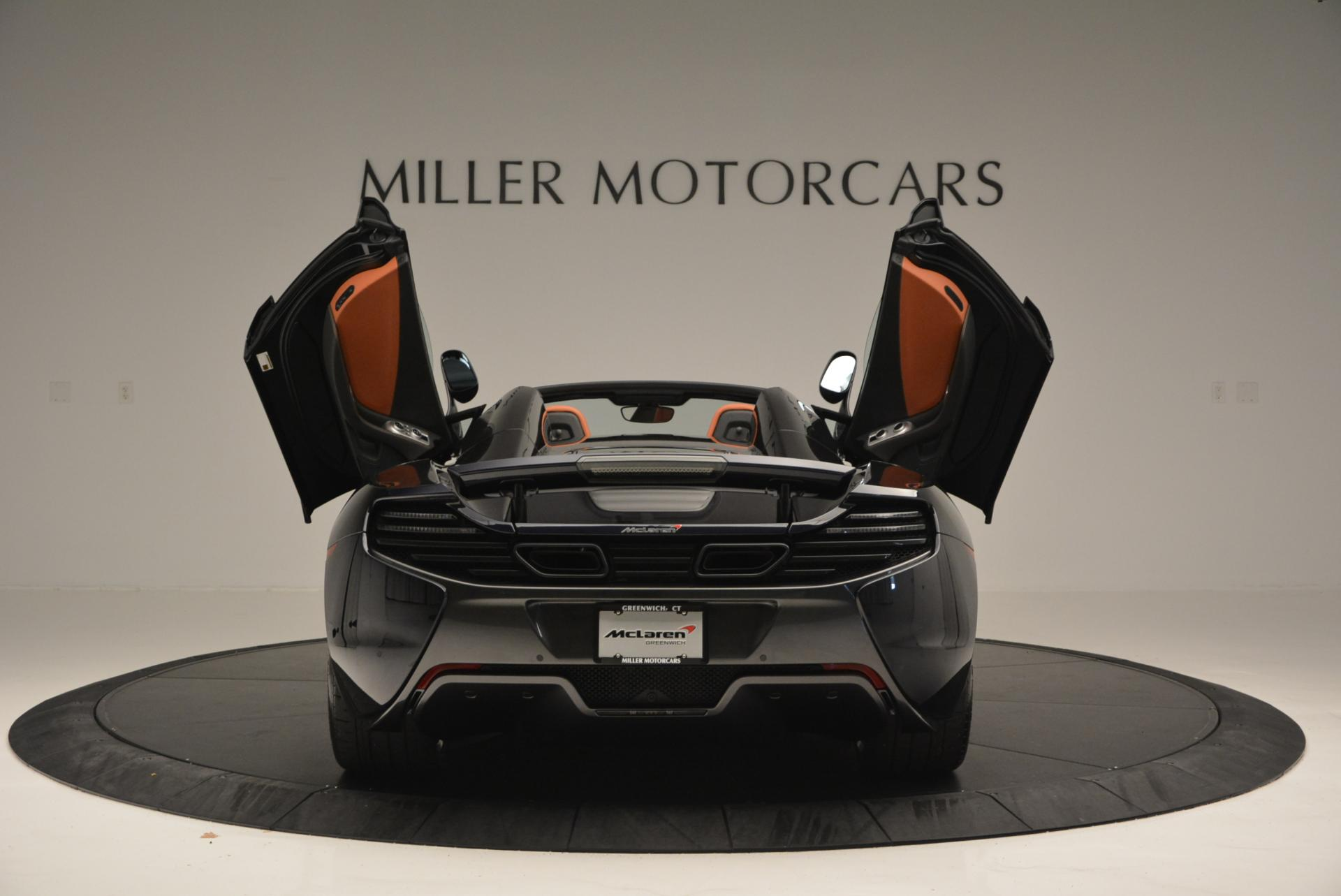 Used 2015 McLaren 650S Spider  For Sale In Greenwich, CT. Alfa Romeo of Greenwich, 3085 518_p14