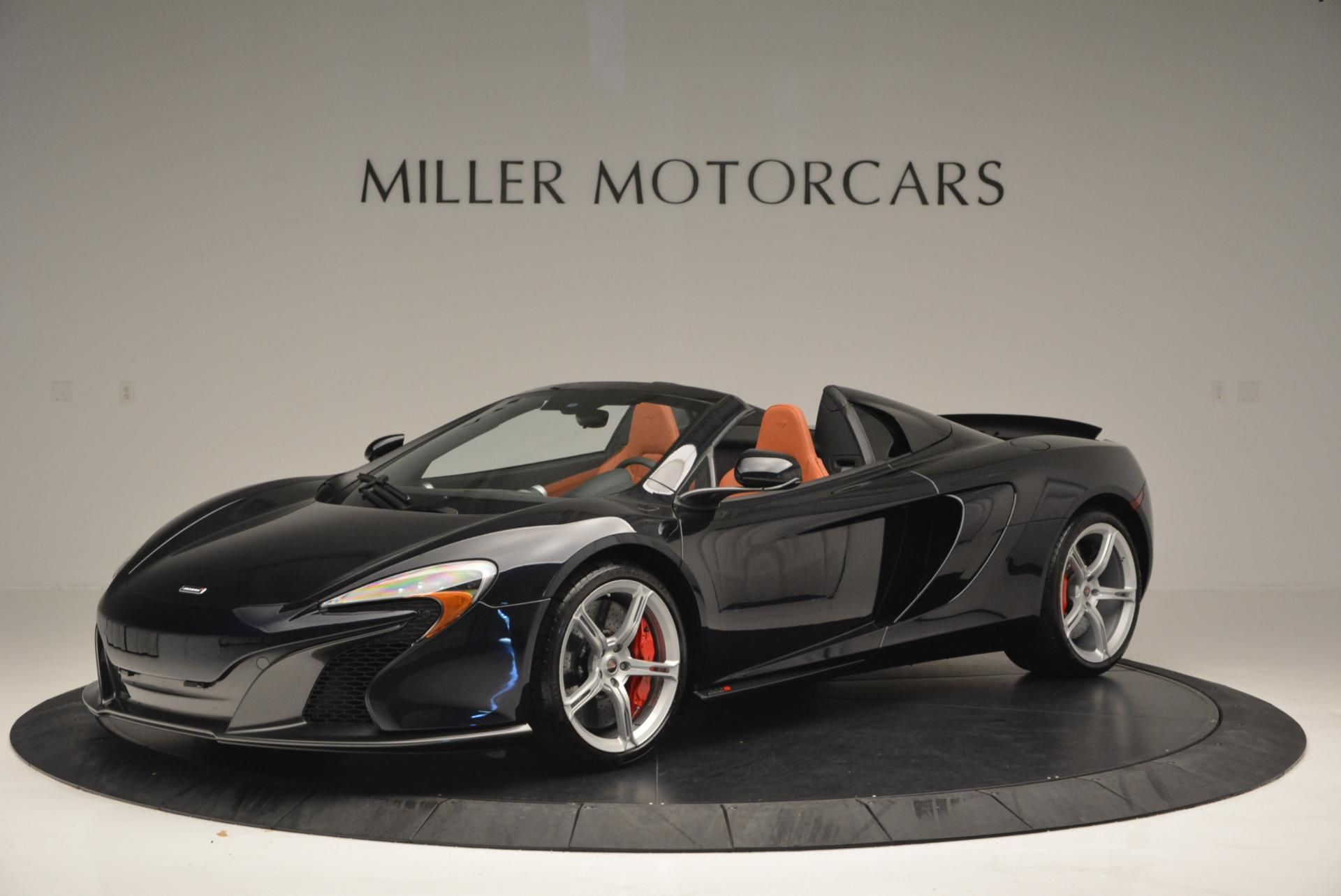 Used 2015 McLaren 650S Spider  For Sale In Greenwich, CT. Alfa Romeo of Greenwich, 3085 518_p2