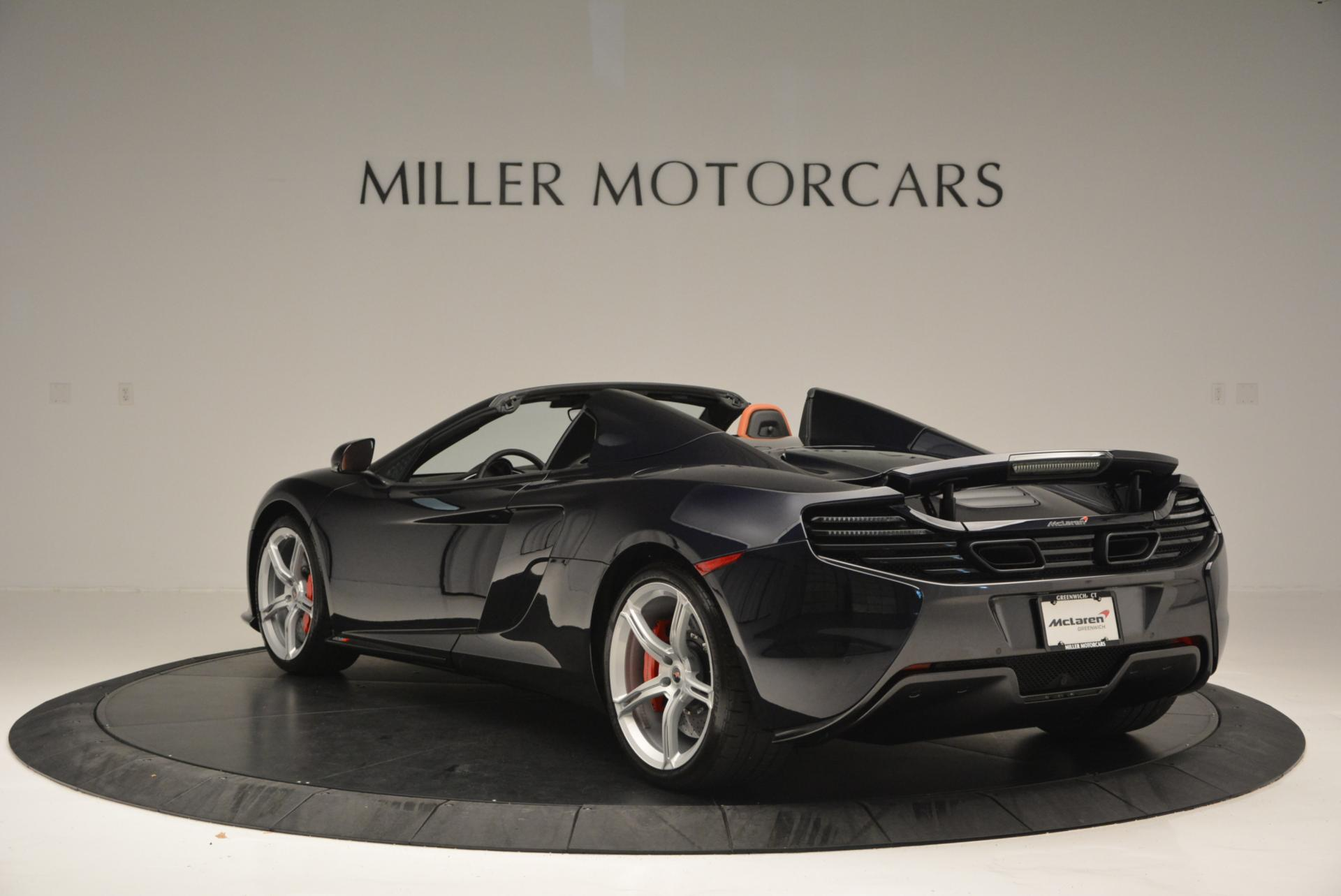 Used 2015 McLaren 650S Spider  For Sale In Greenwich, CT. Alfa Romeo of Greenwich, 3085 518_p5