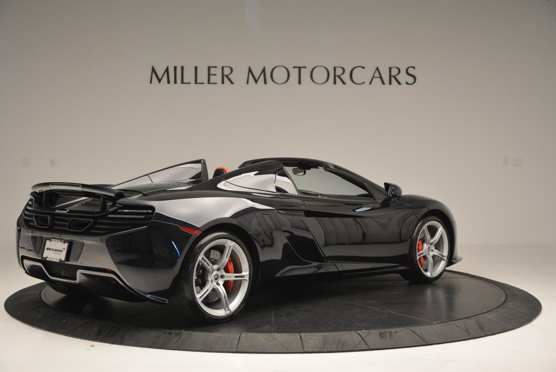 Used 2015 McLaren 650S Spider  For Sale In Greenwich, CT. Alfa Romeo of Greenwich, 3085 518_p8