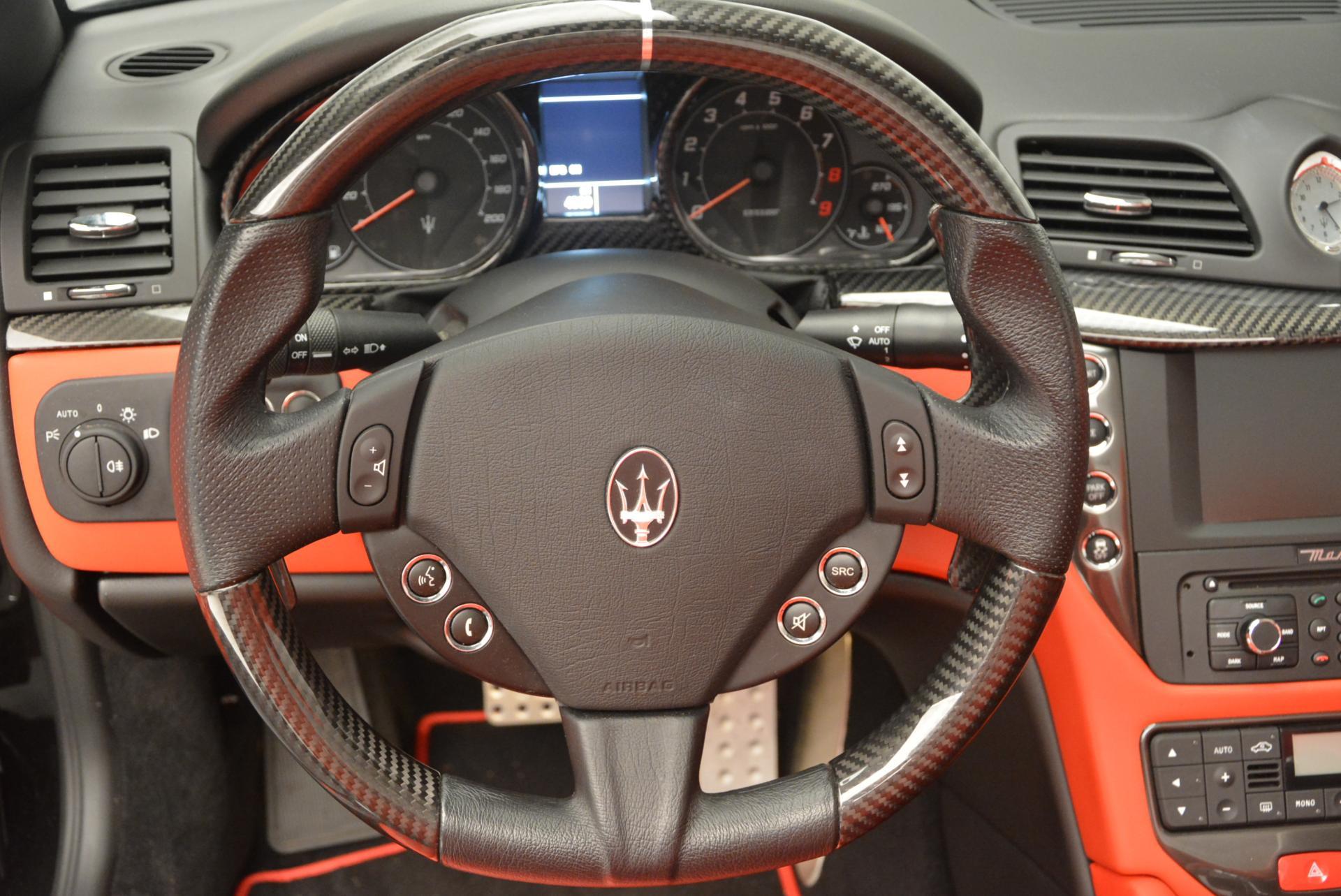 Used 2013 Maserati GranTurismo MC For Sale In Greenwich, CT. Alfa Romeo of Greenwich, 7081 521_p30