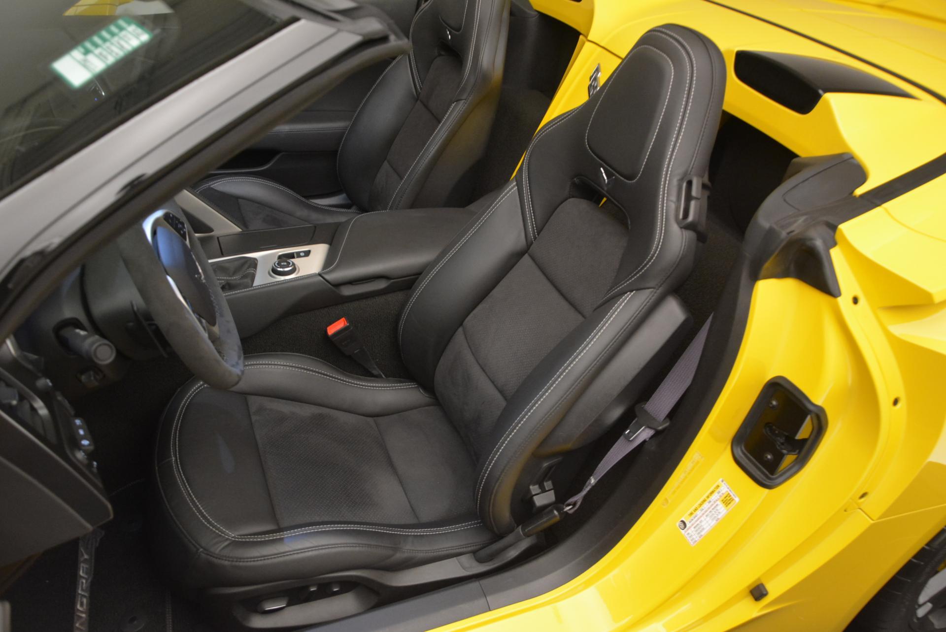 Used 2014 Chevrolet Corvette Stingray Z51 For Sale In Greenwich, CT. Alfa Romeo of Greenwich, 7088 523_p16