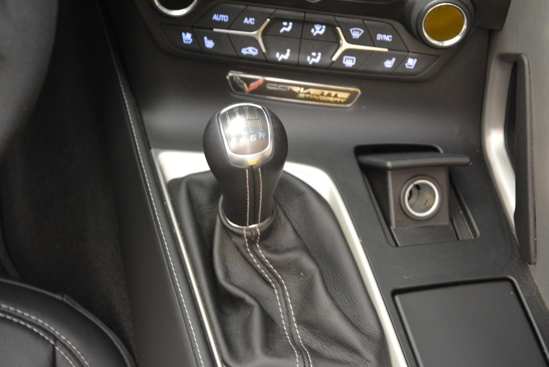 Used 2014 Chevrolet Corvette Stingray Z51 For Sale In Greenwich, CT. Alfa Romeo of Greenwich, 7088 523_p17