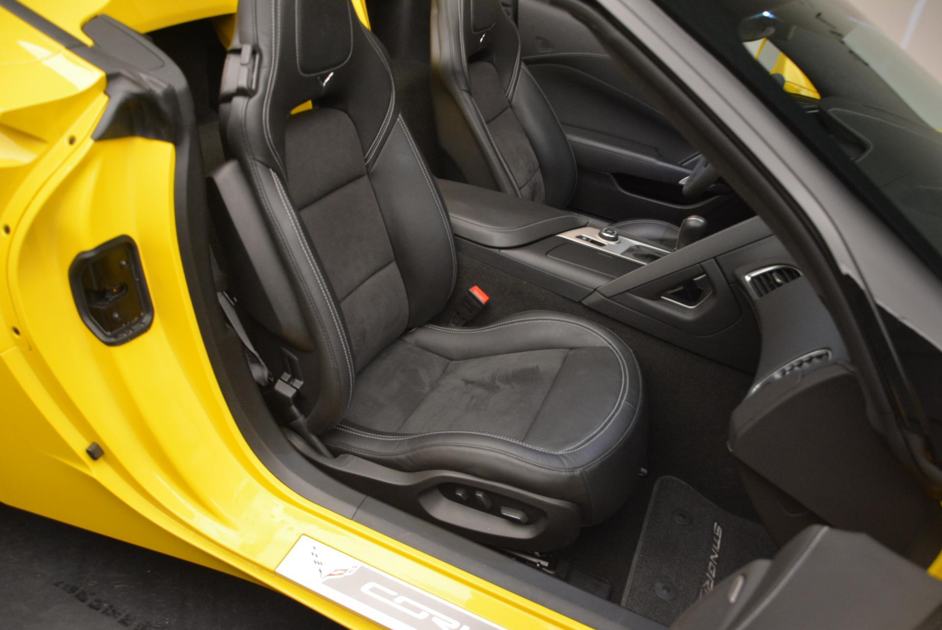 Used 2014 Chevrolet Corvette Stingray Z51 For Sale In Greenwich, CT. Alfa Romeo of Greenwich, 7088 523_p20